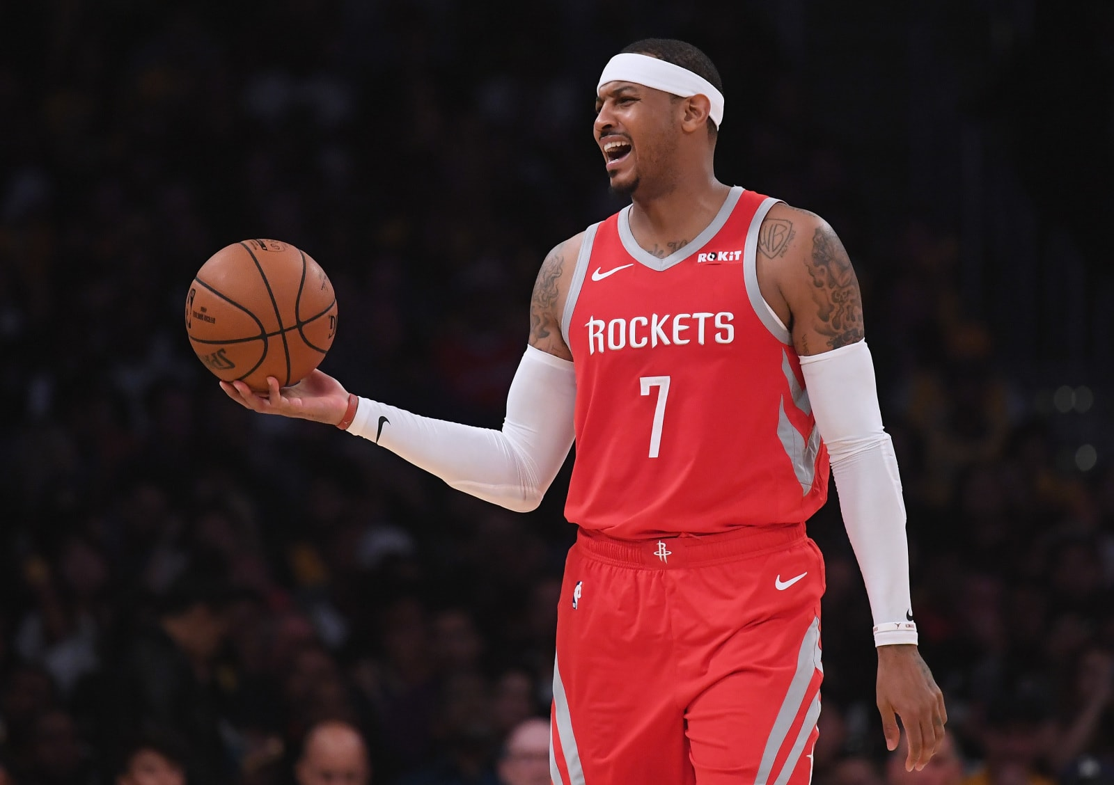 Houston Rockets F Carmelo Anthony