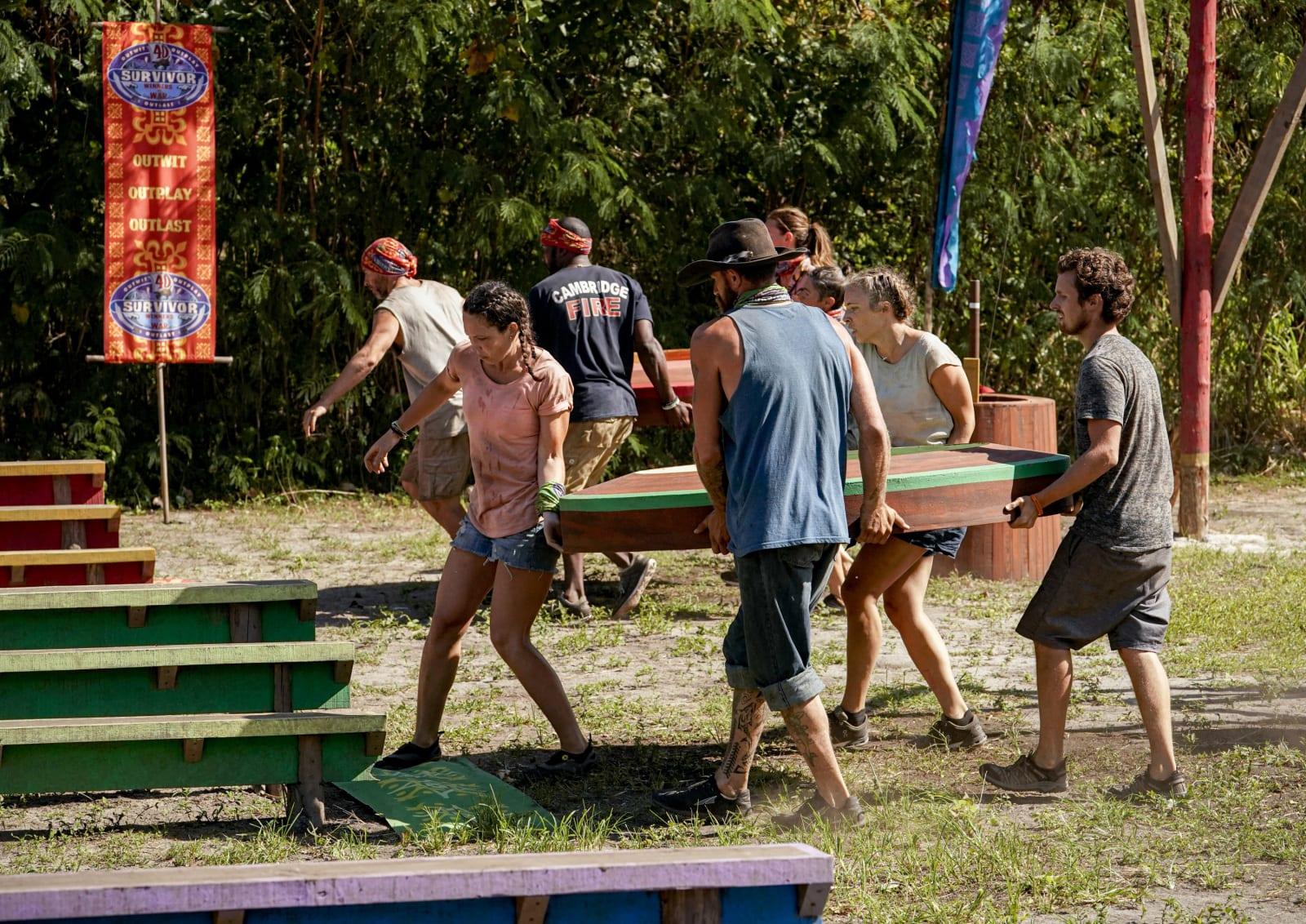 Immunity Challenge part 3 Survivor Winners at War episode 7