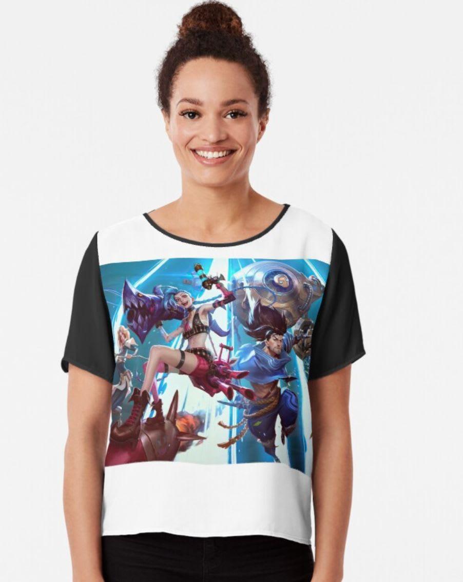 Descubre Weeabuyshops League of Legends: Camisa con ilustraciones de Wild Rift en Redbubble.