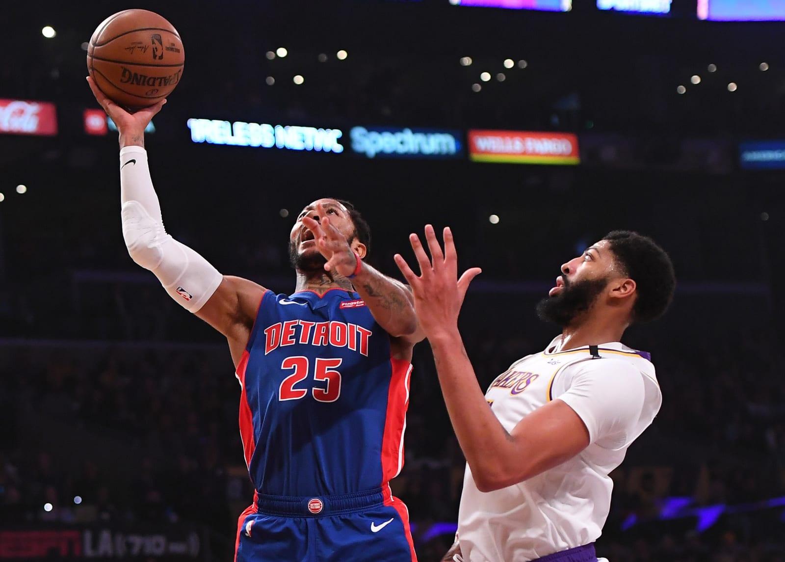 Detroit Pistons, Derrick Rose