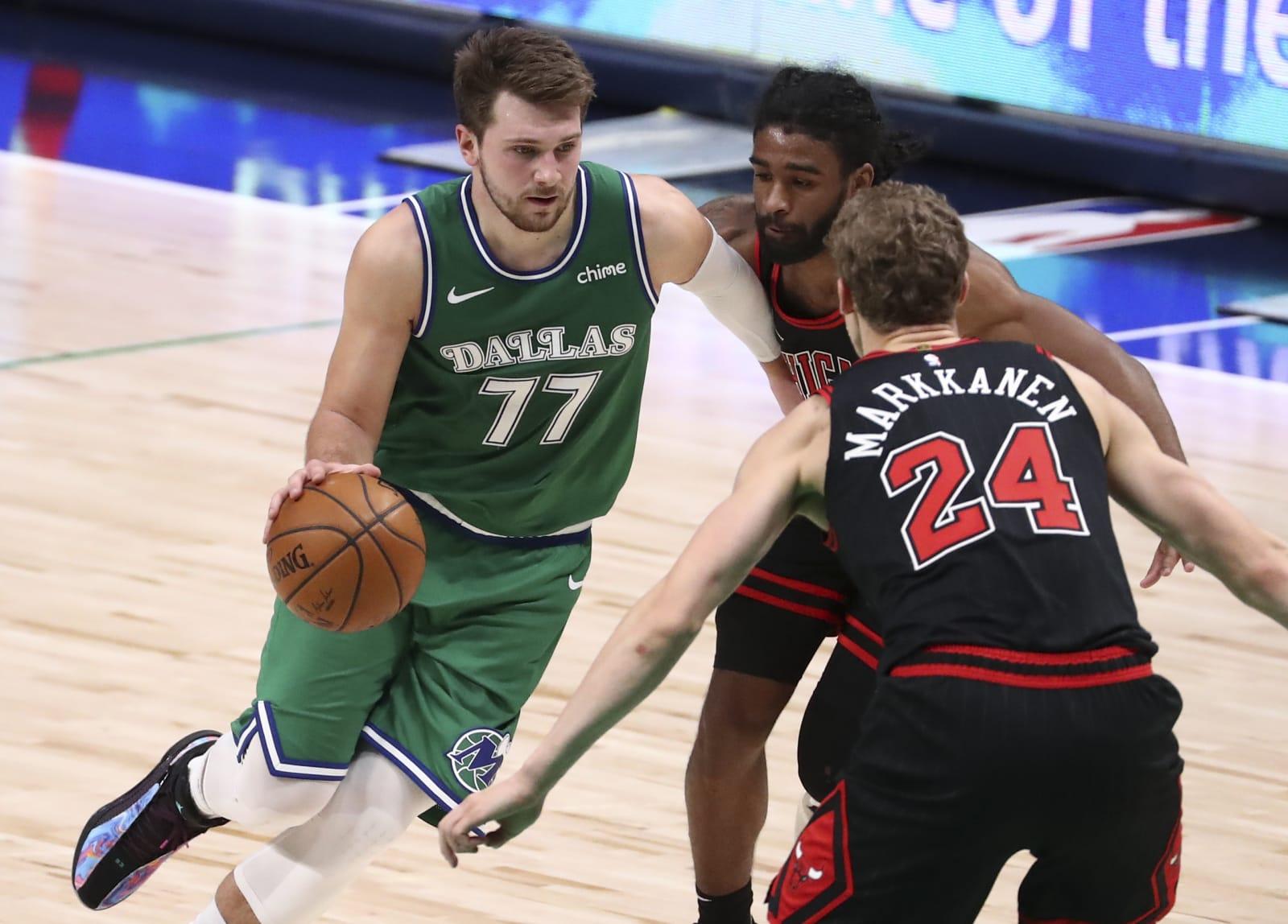 Luka Doncic, Lauri Markkanen, Chicago Bulls