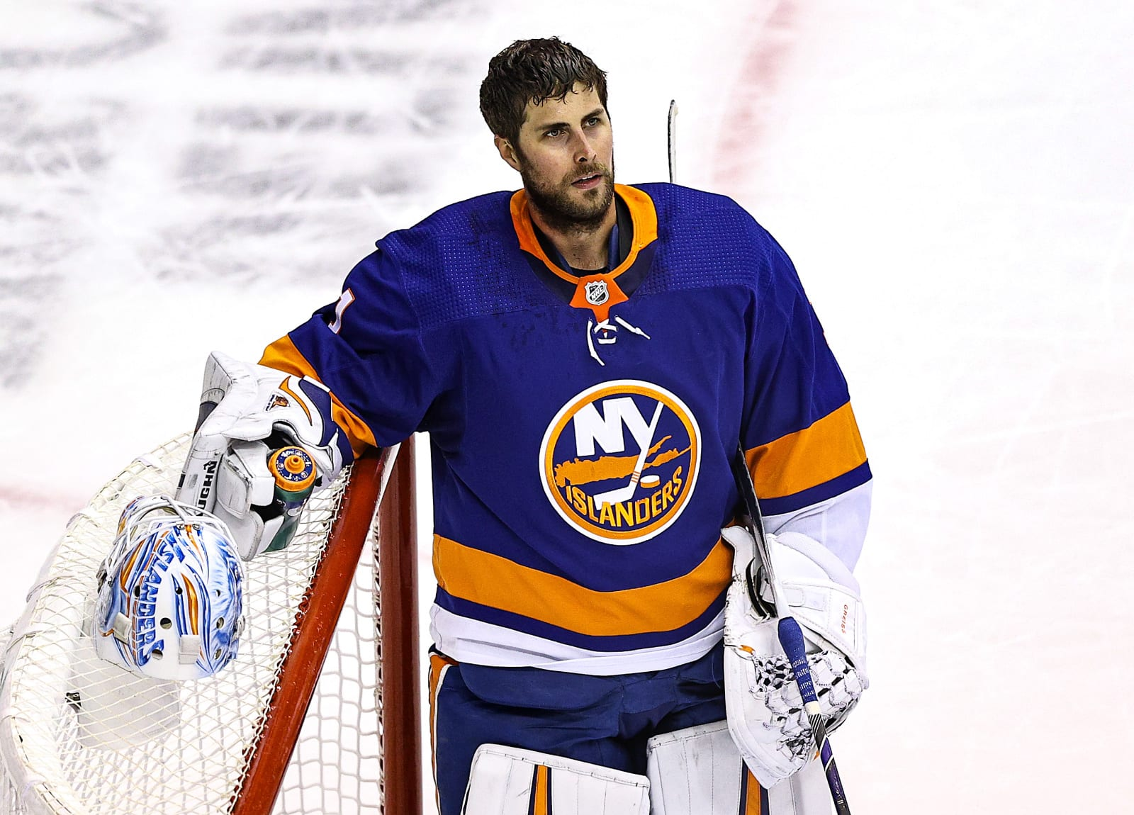 Thomas Greiss #1, New York Islanders