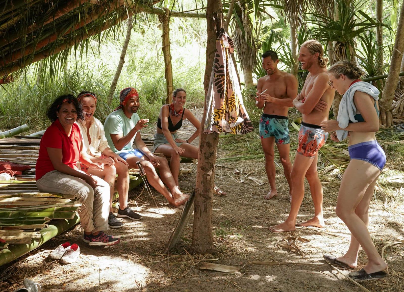 Dakal Tribe shelter Survivor Winners at War episode 1
