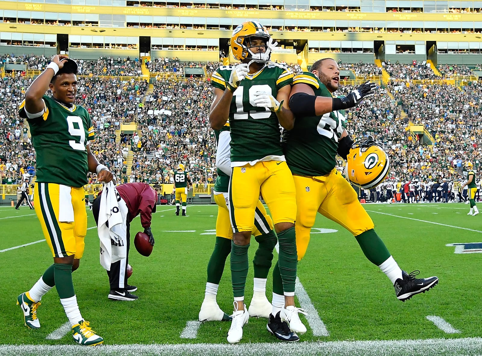 Green Bay Packers 5 Standouts From Preseason Week 1 Vs Texans