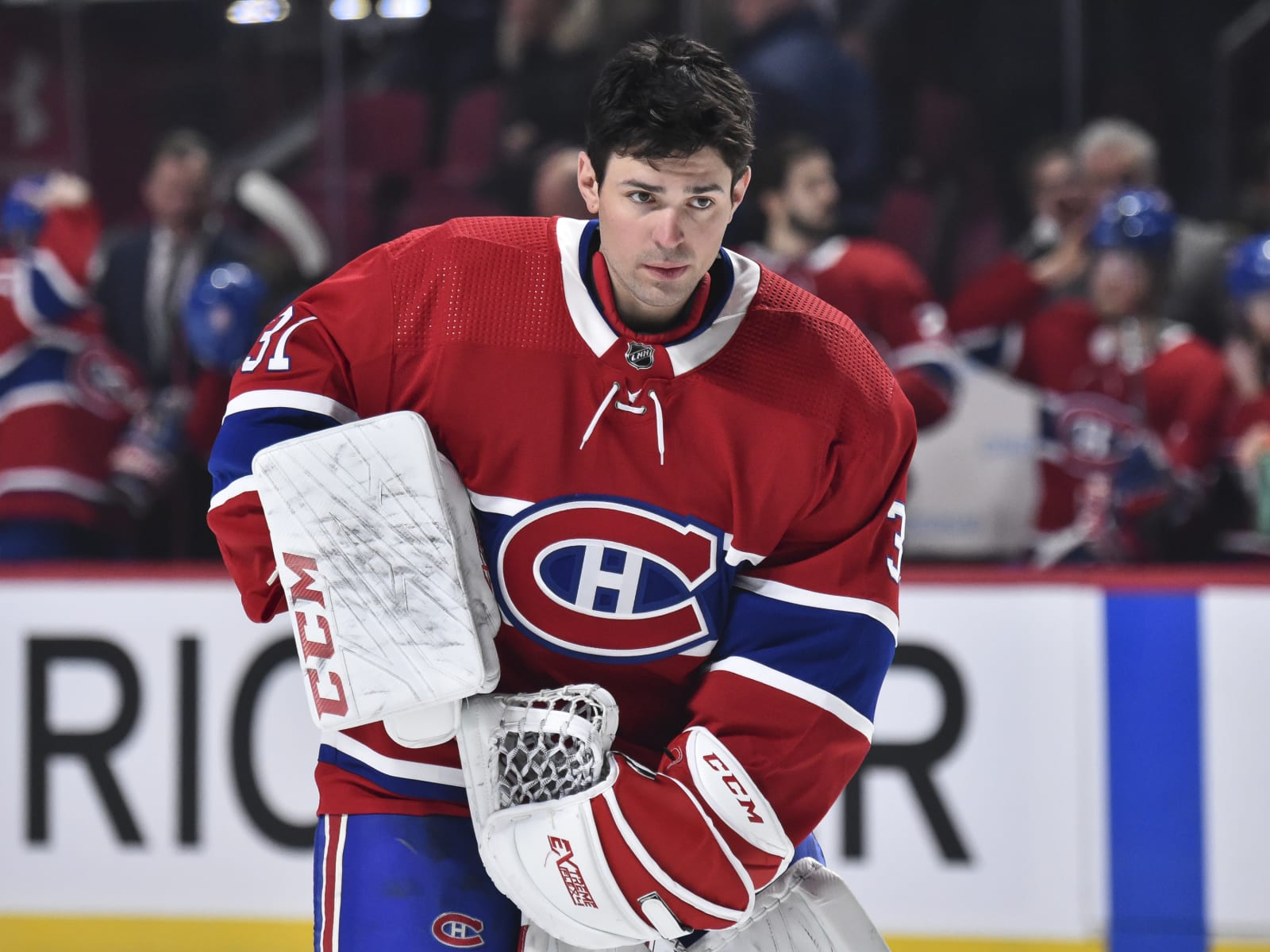 Goaltender Carey Price #31 of the Montreal Canadiens