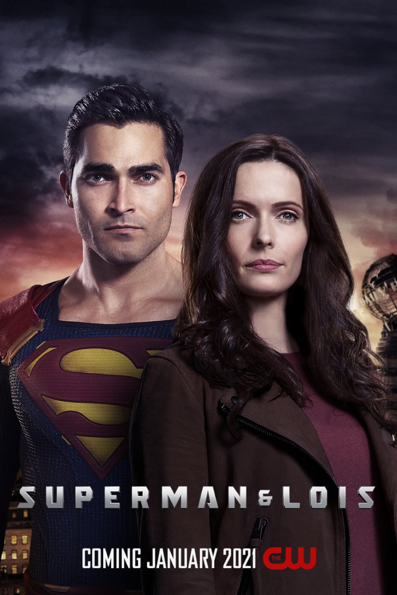 Superman & Lois -Tyler Hoechlin as Superman and Elizabeth Tulloch as Lois Lane (The CW)