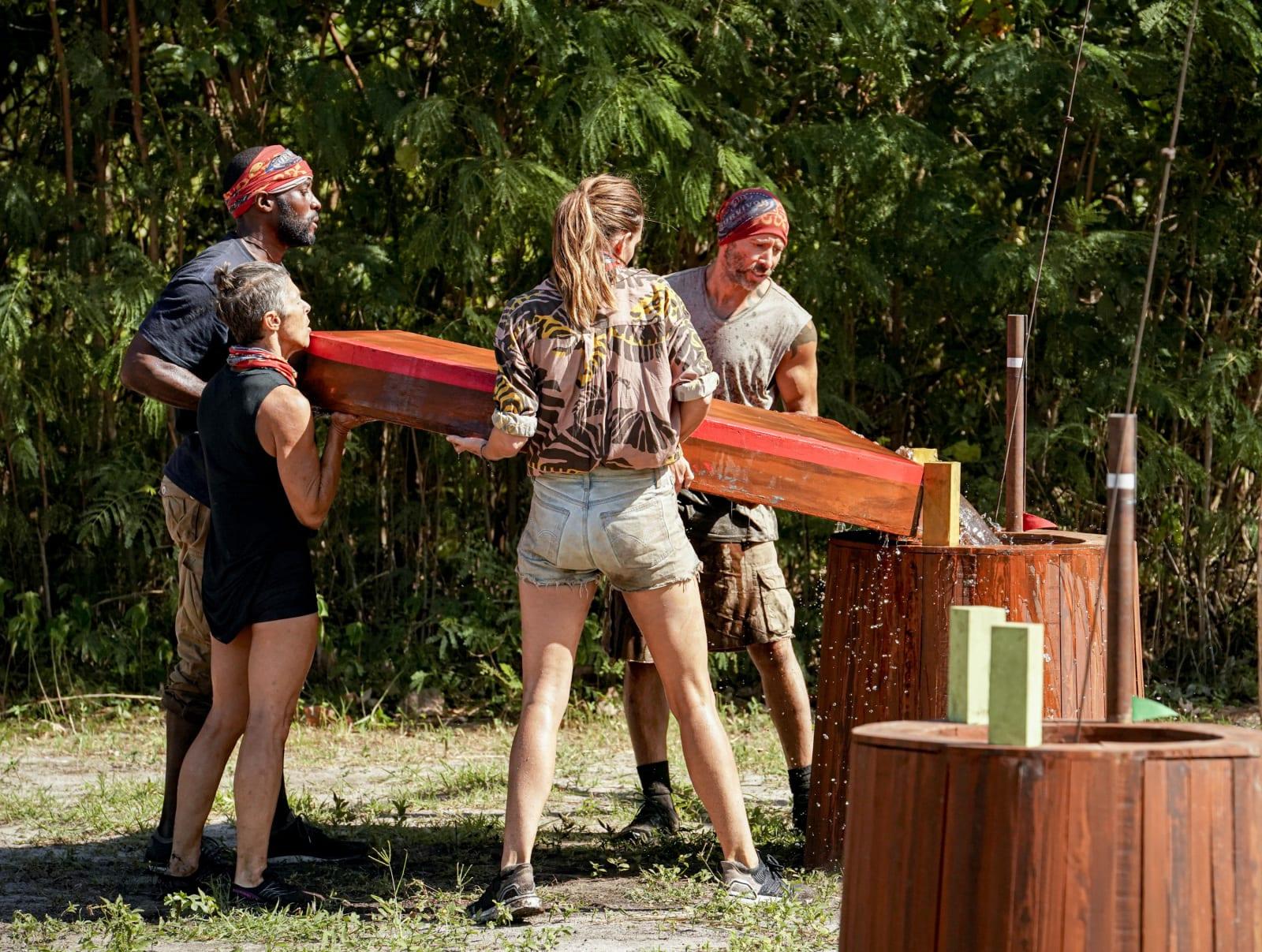 Immunity Challenge part 6 Survivor Winners at War episode 7