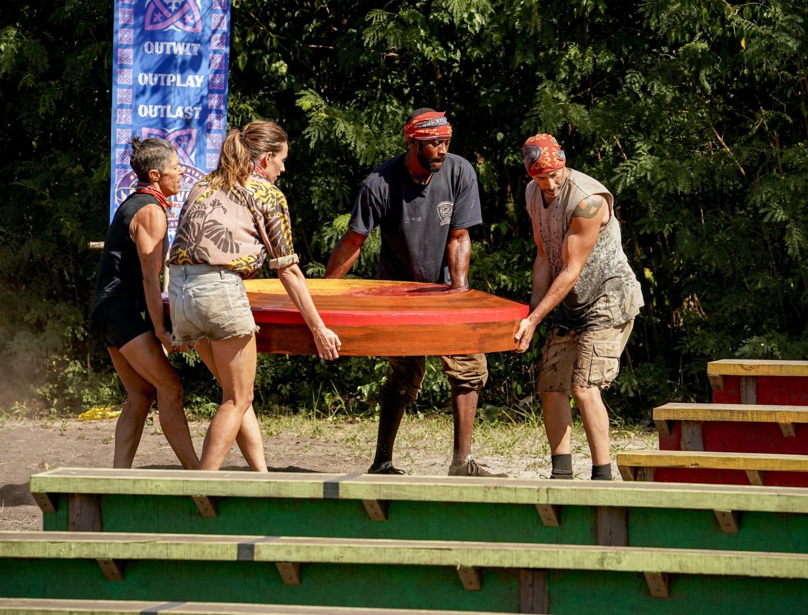 Immunity Challenge part 5 Survivor Winners at War episode 7