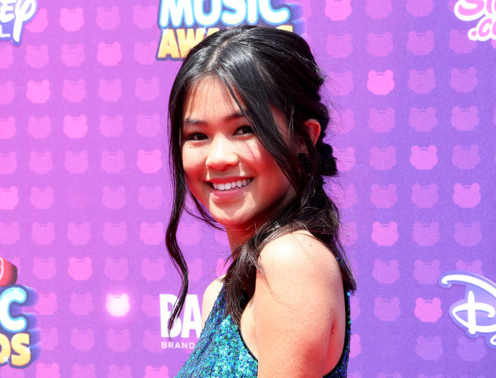LOS ANGELES, CA - APRIL 30: Actress Tiffany Espensen attends the 2016 Radio Disney Music Awards at Microsoft Theater on April 30, 2016 in Los Angeles, California. (Photo by David Livingston/Getty Images)