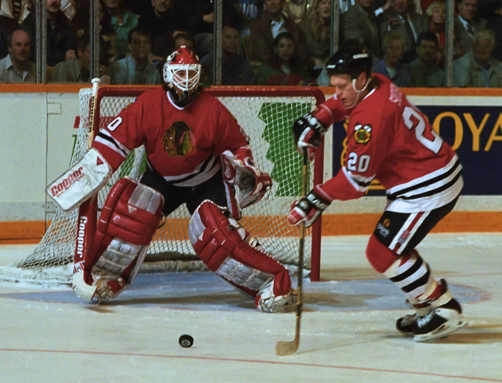 Ed Belfour, Chicago Blackhawks, Gary Suter