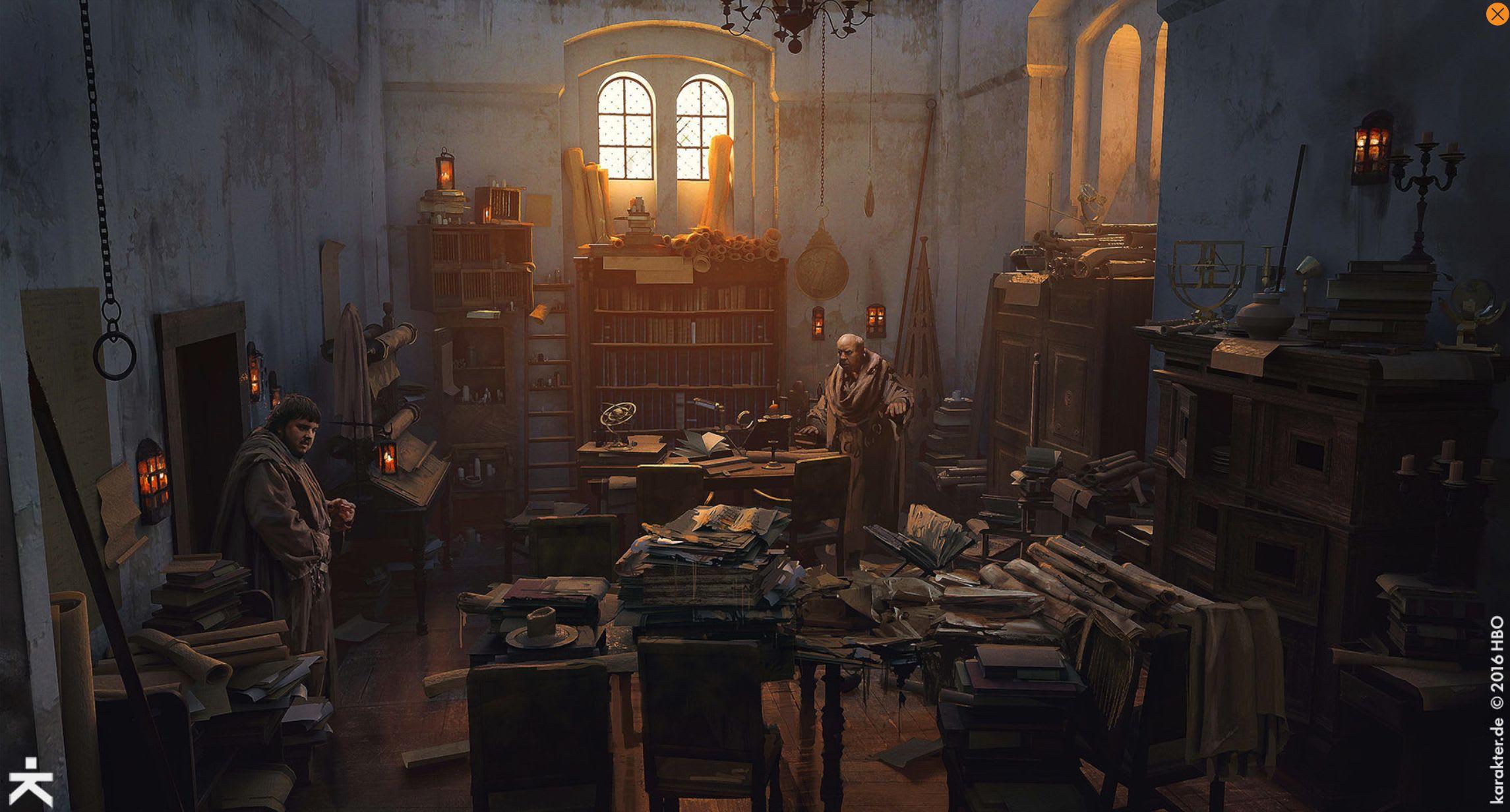 Karakter Releases Must See Concept Art For Game Of Thrones Season 7