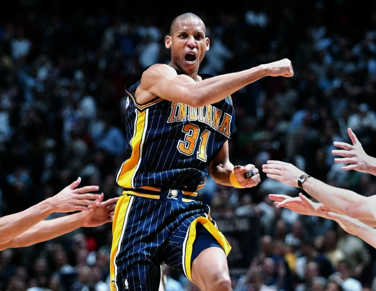 Indiana Pacers news: Reggie Miller jersey makes appearance on