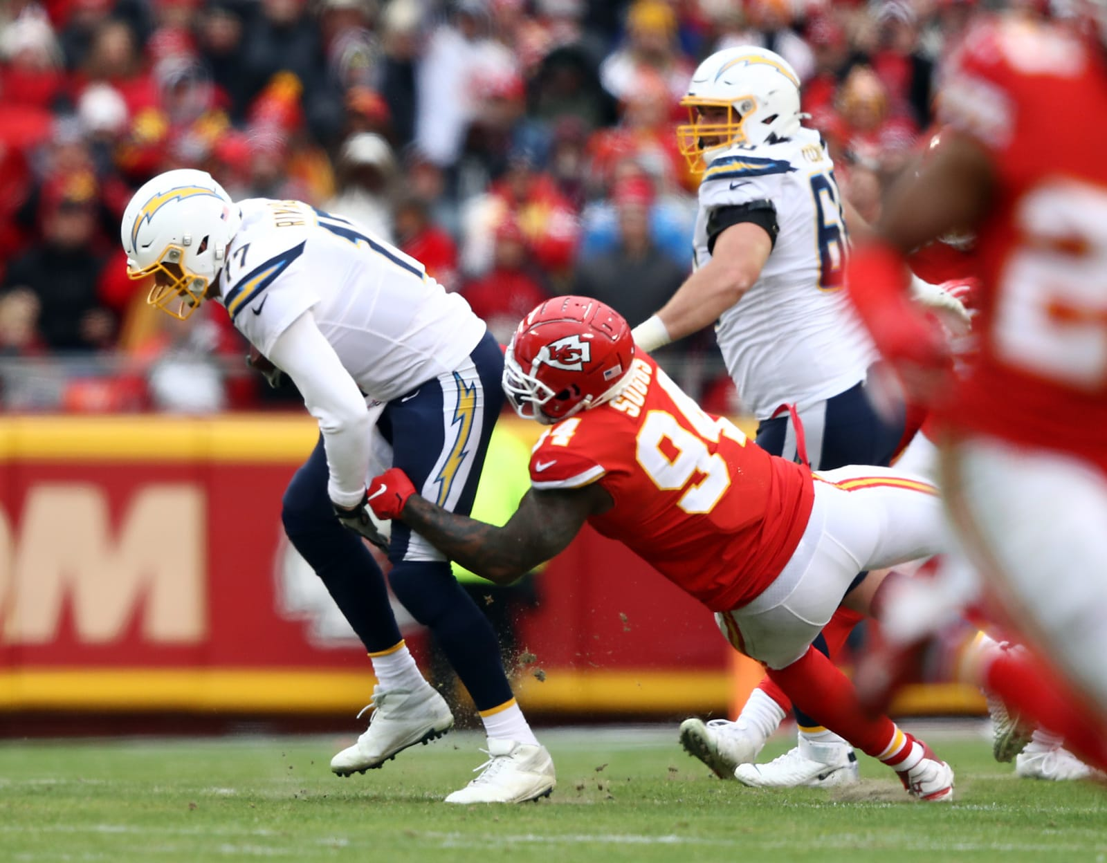 Los Angeles Chargers vs. Kansas City Chiefs