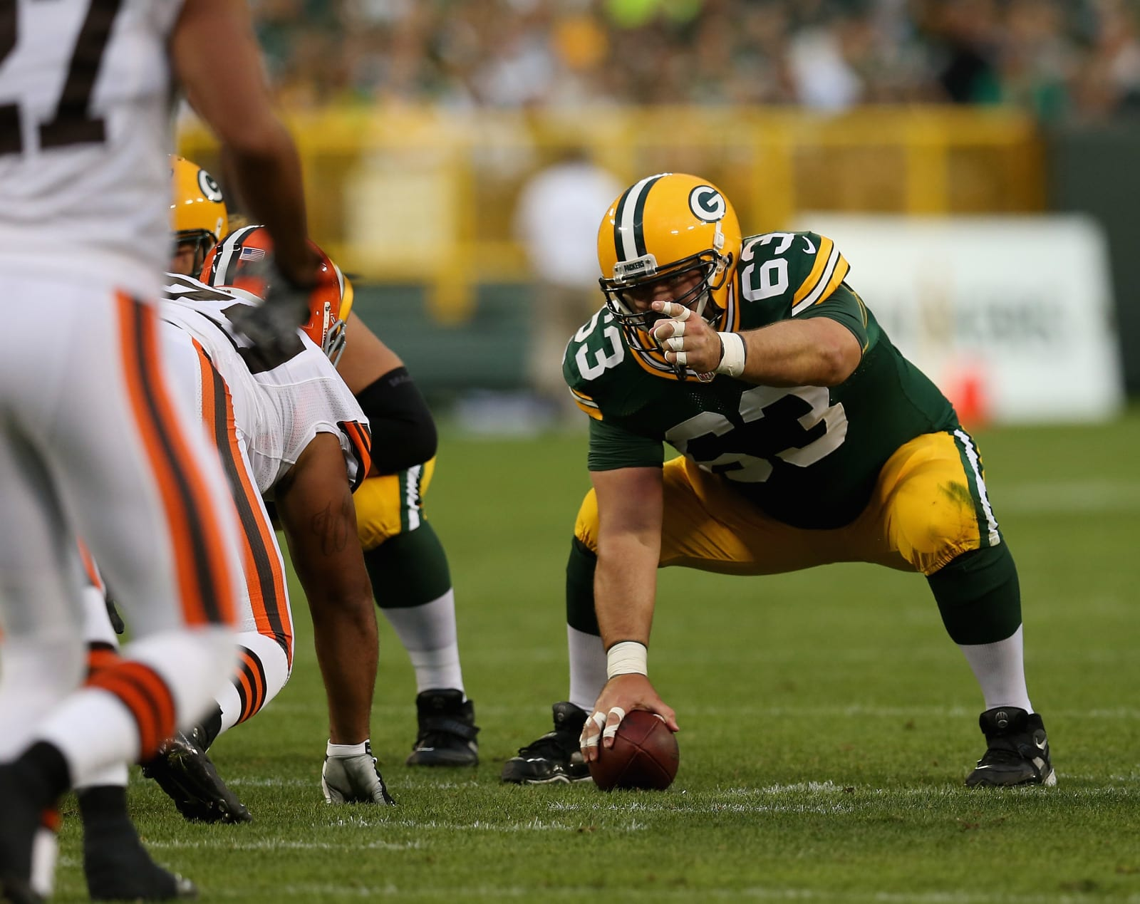 Jeff Saturday, Green Bay Packers
