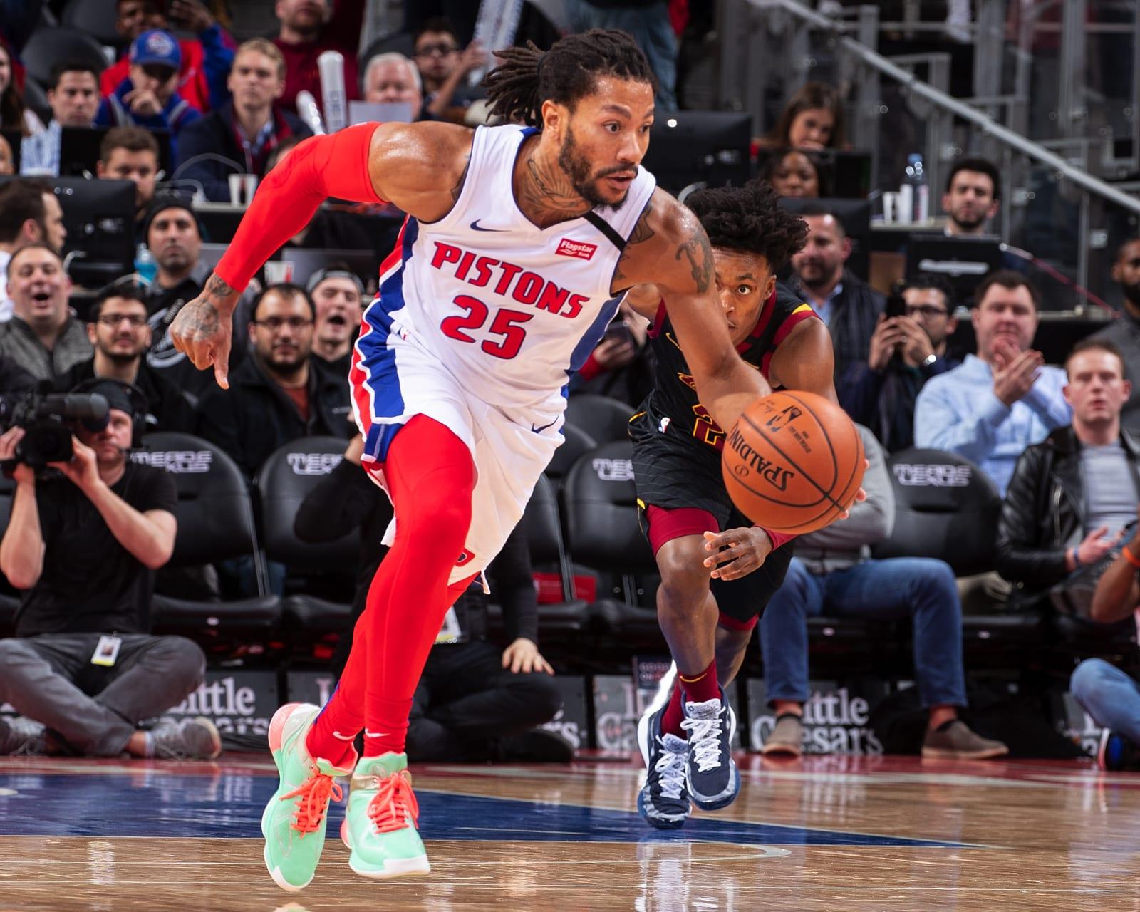 Detroit Pistons 2019-2020 player grade
