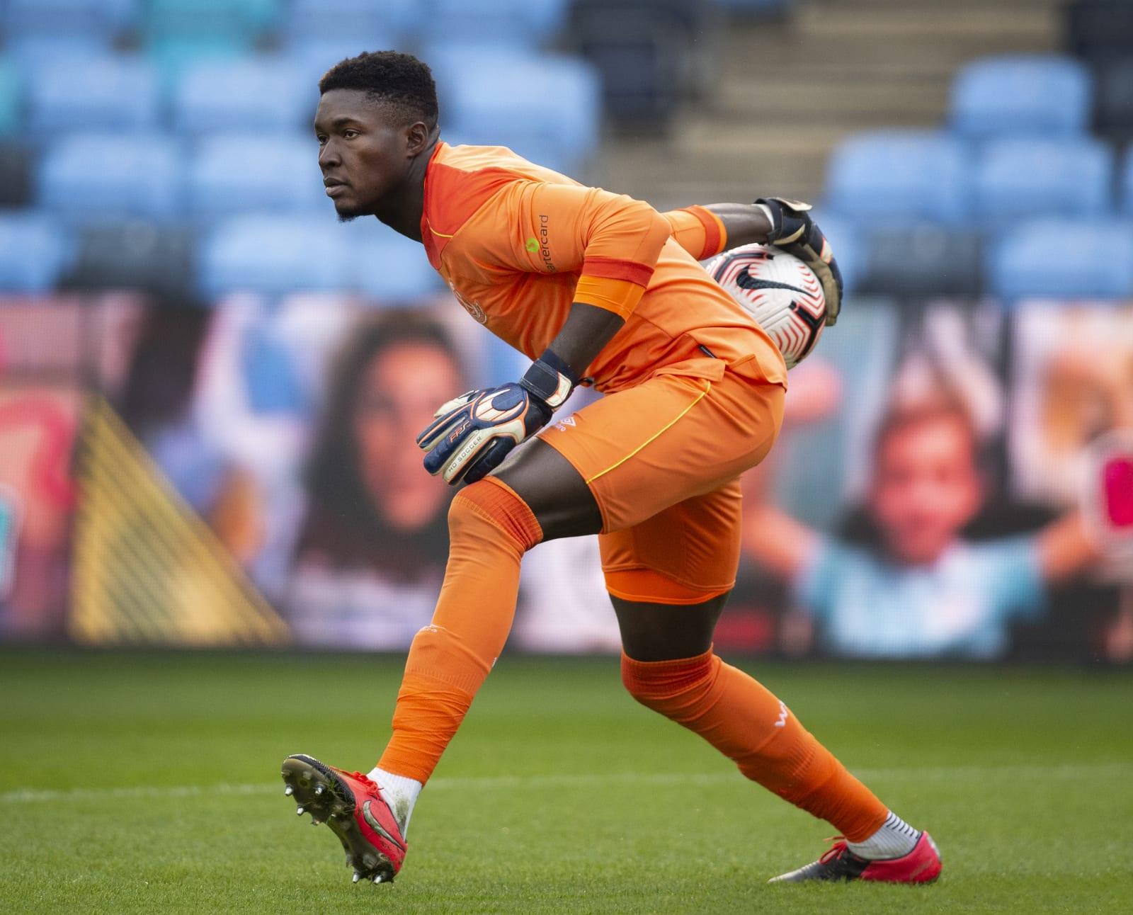 West Ham United goalkeeper Joseph Anang. (Photo by Joe Prior/Visionhaus/Getty Images)