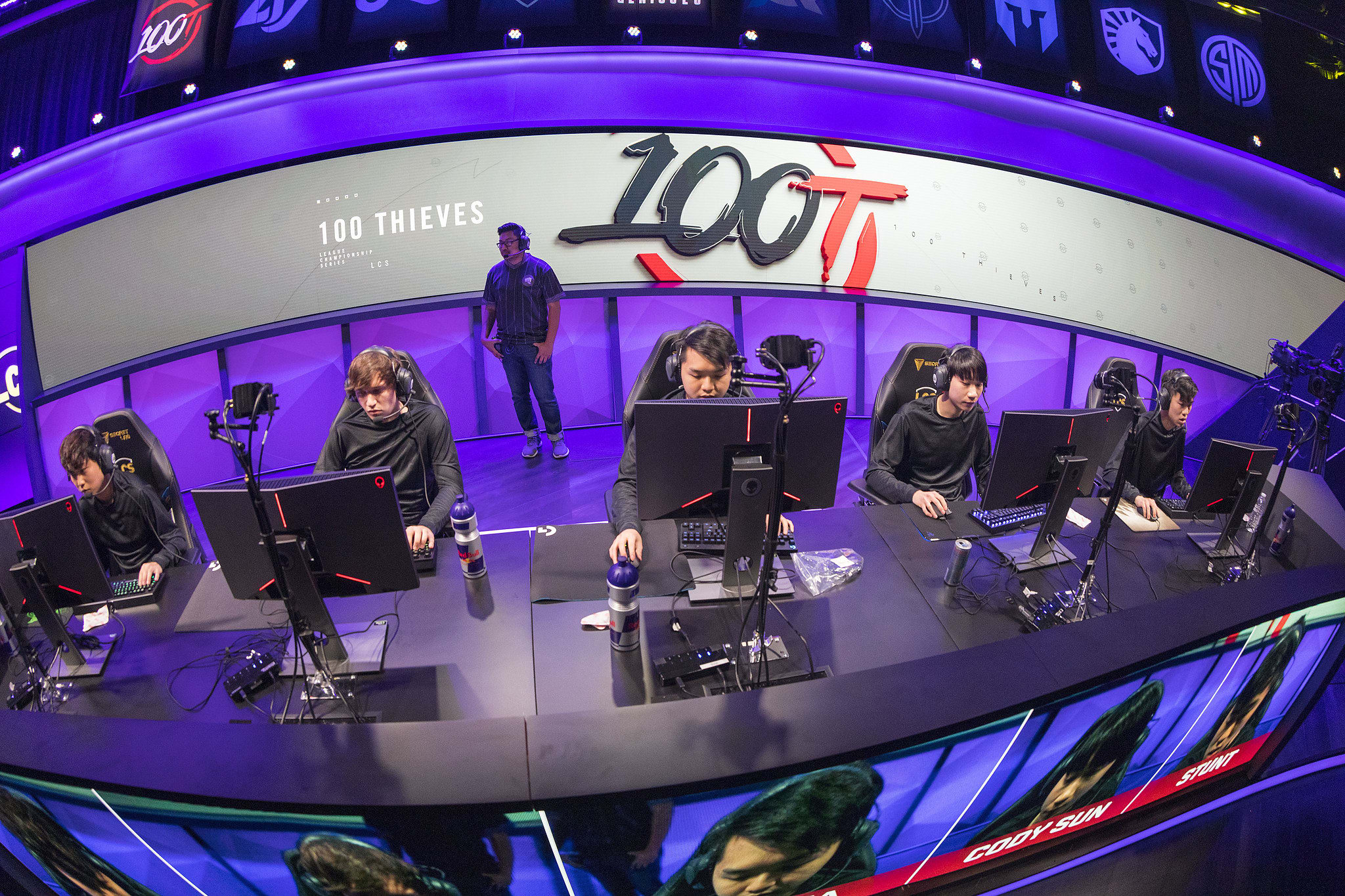 100 Thieves, LCS, League of Legends.