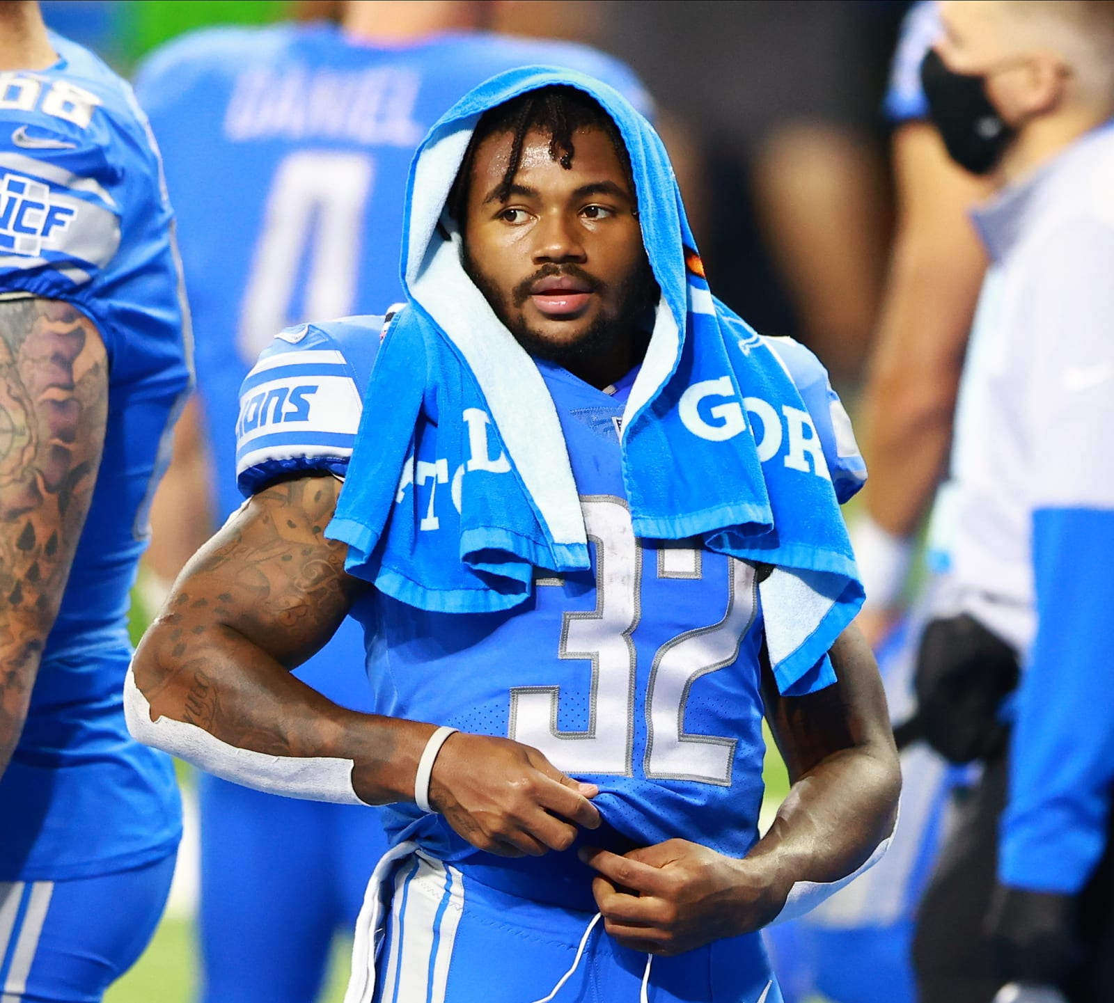 D'Andre Swift, Detroit Lions