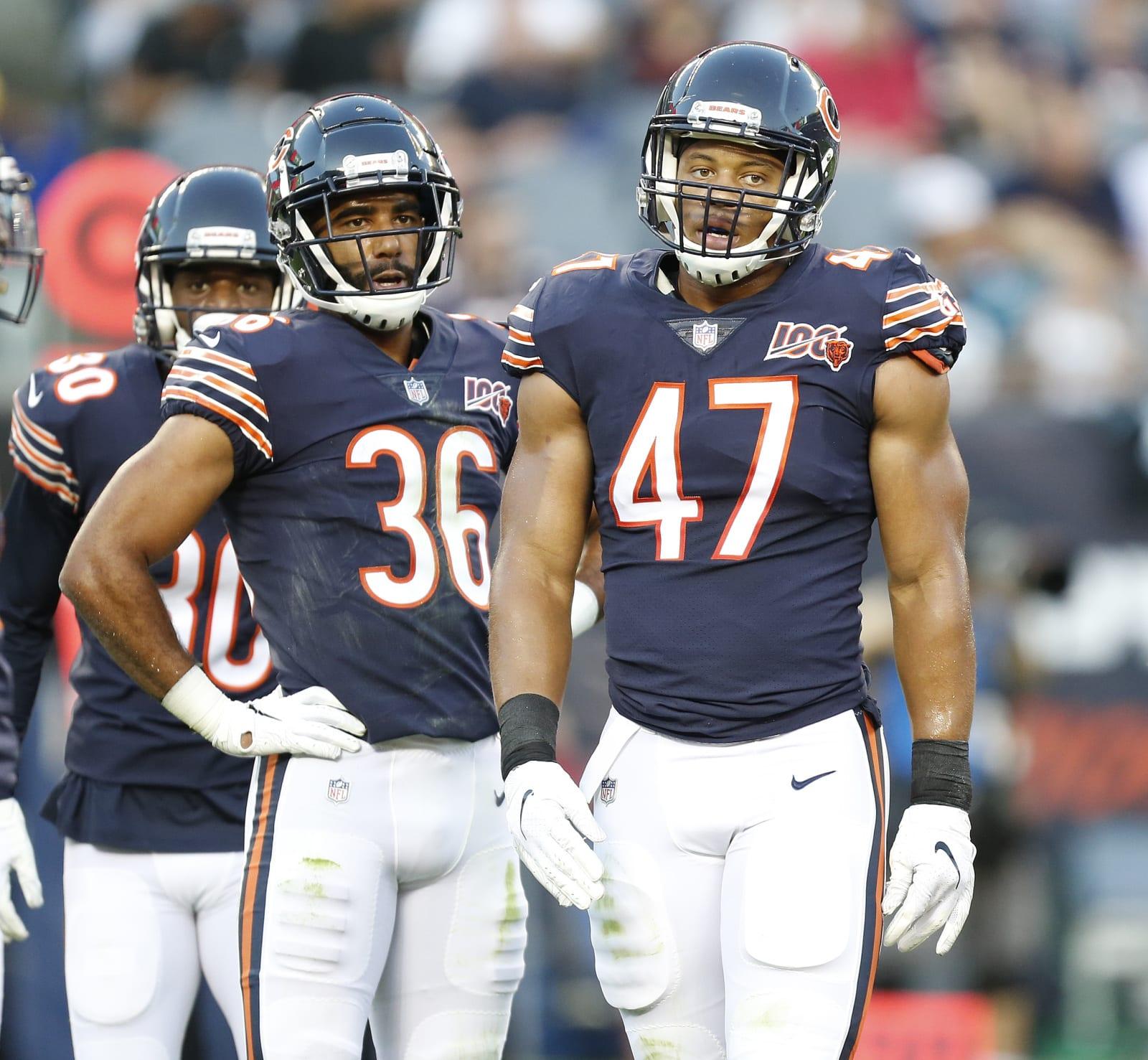 Chicago Bears, Isaiah Irving