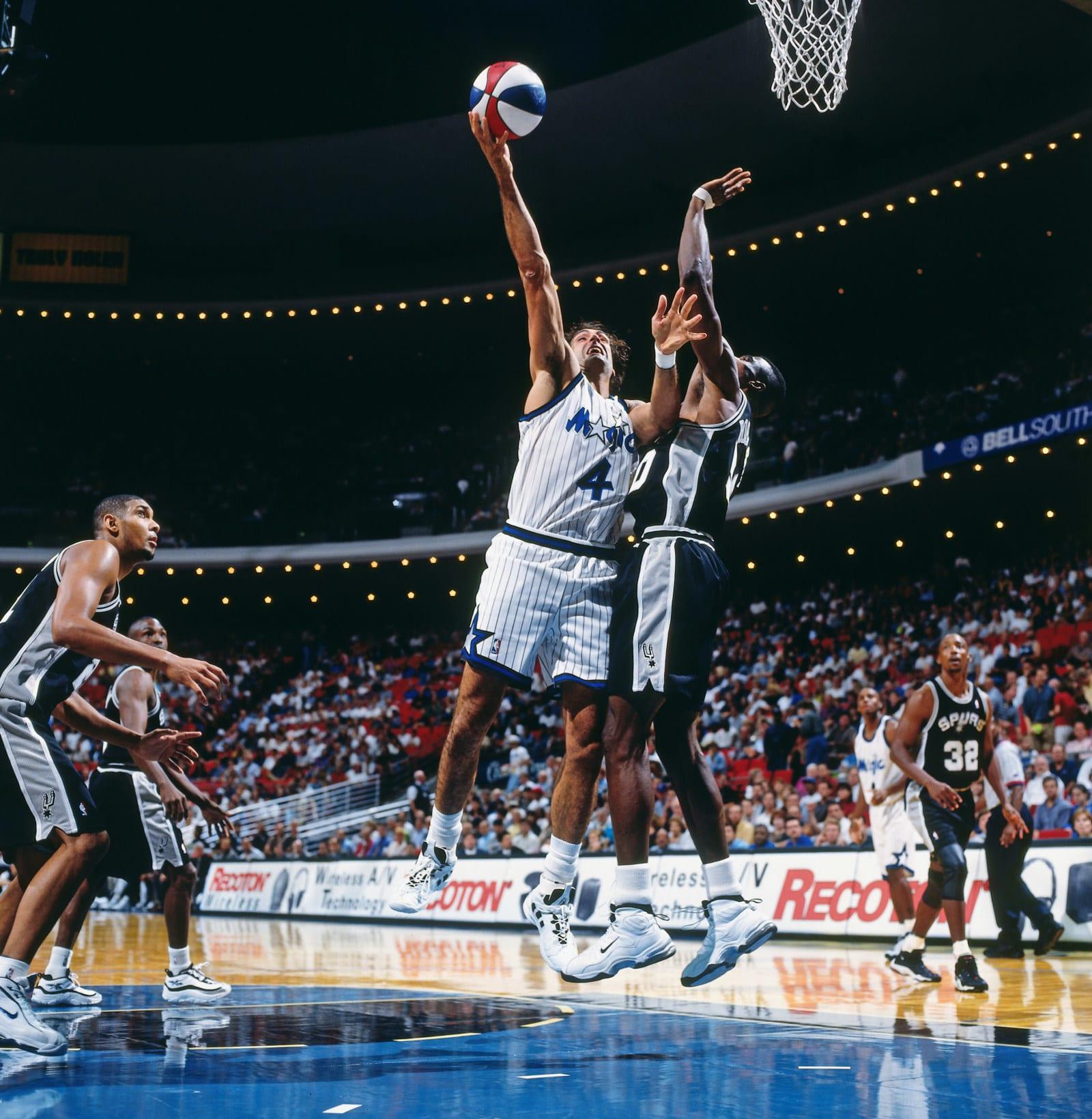 Rony Seikaly, Orlando Magic, San Antonio Spurs