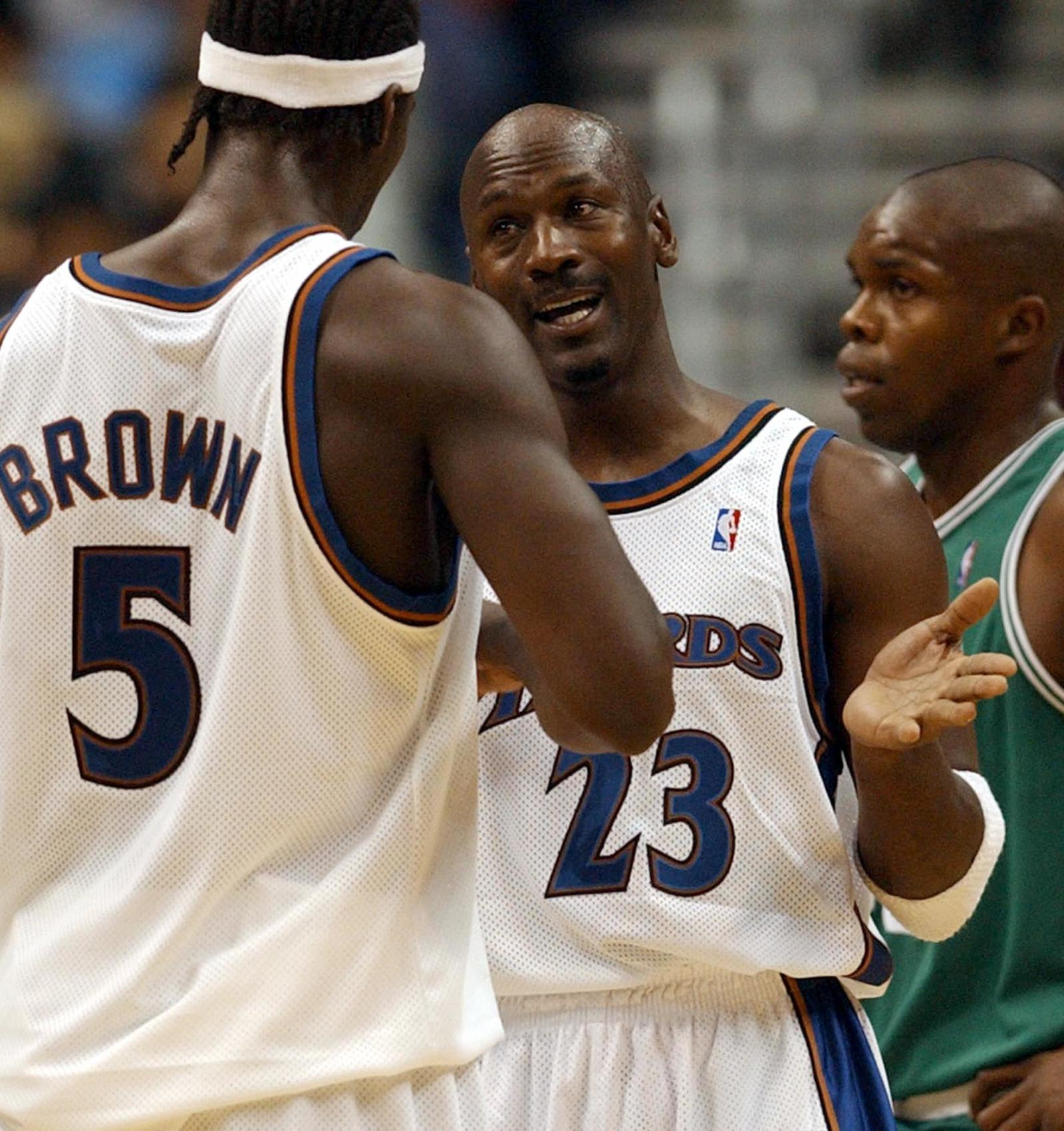Michael Jordan, Kwame Brown, Chicago Bulls