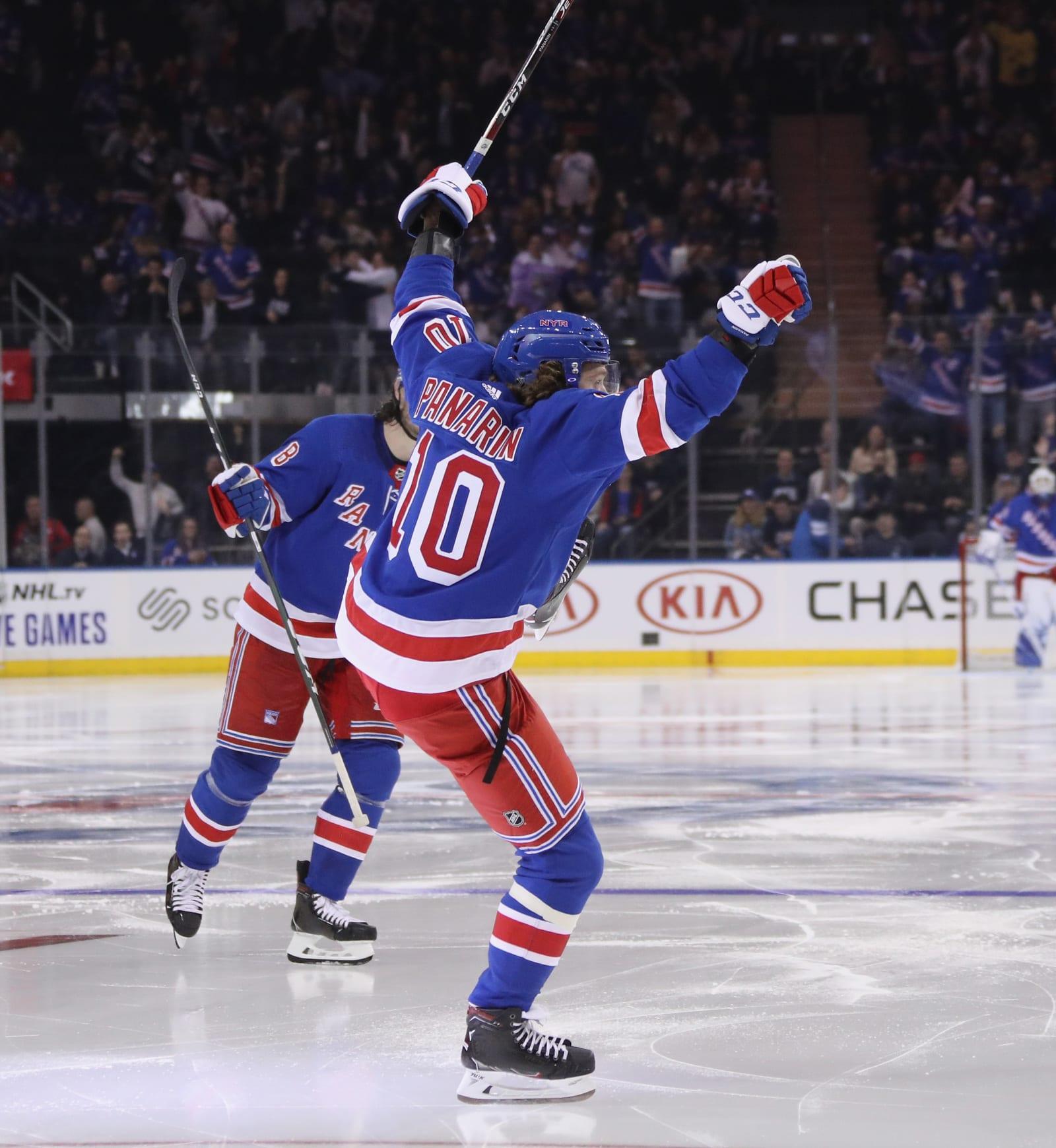 New York Rangers A Christmas Present Named Artemi Panarin