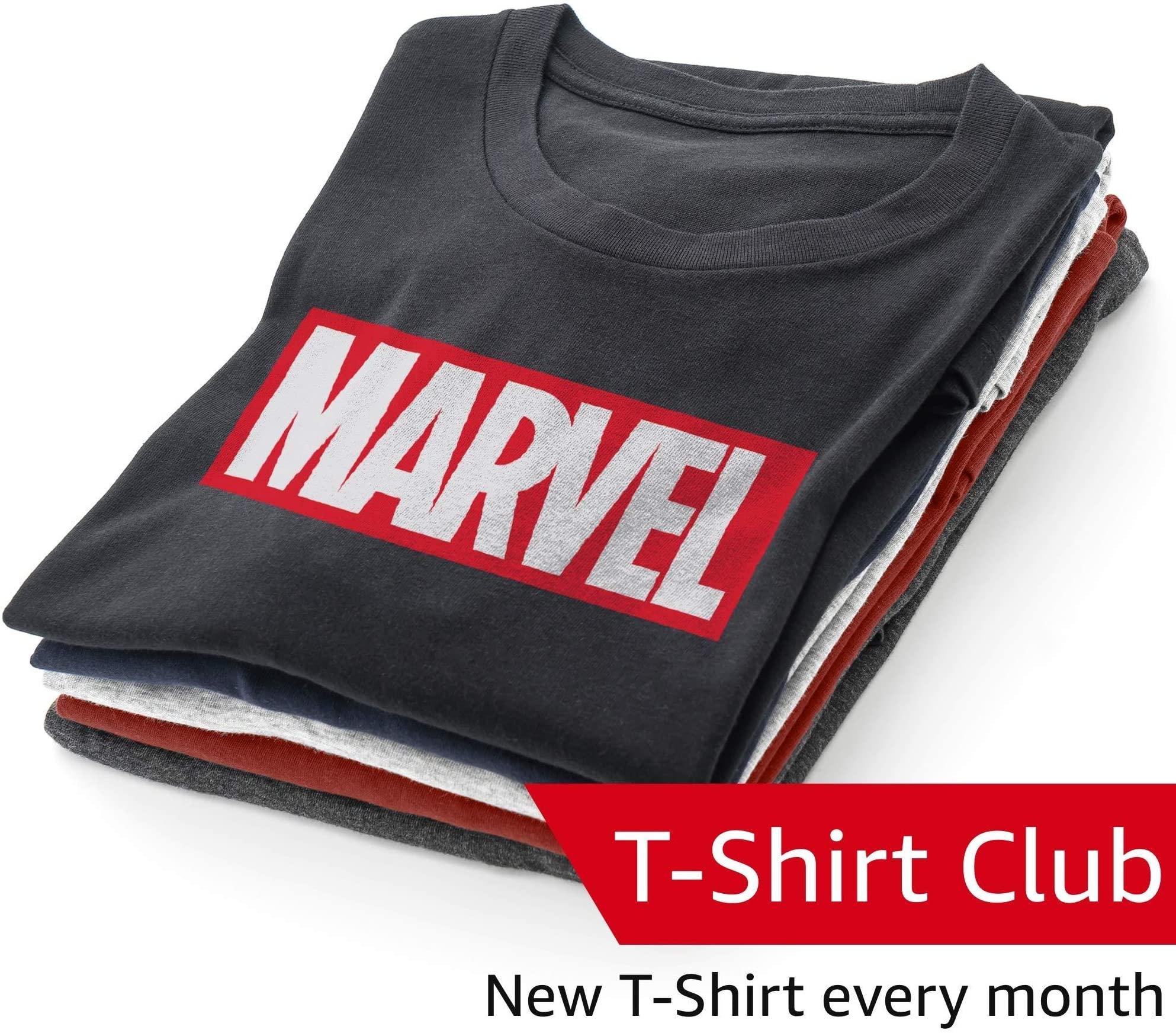 Discover Marvel's Design Vault Club T-Shirt Subscription on Amazon.