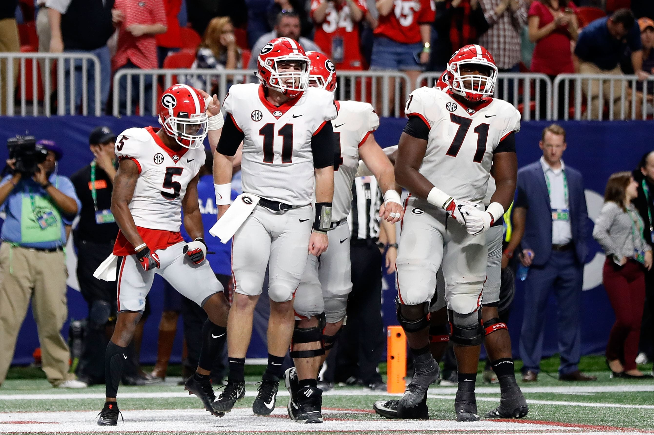 Georgia Football Projected Depth Chart Going Into Week 1
