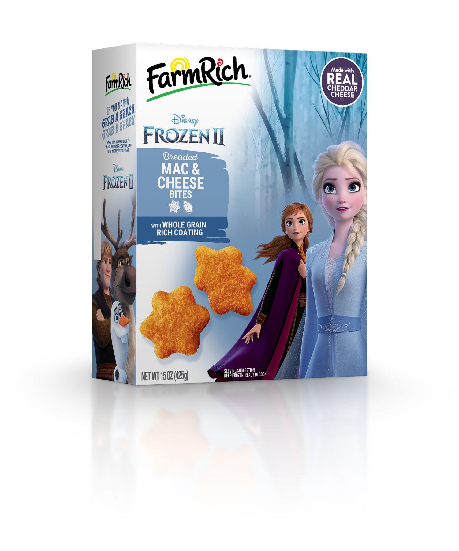 Disney's Frozen 2 Mac & Cheese Bites