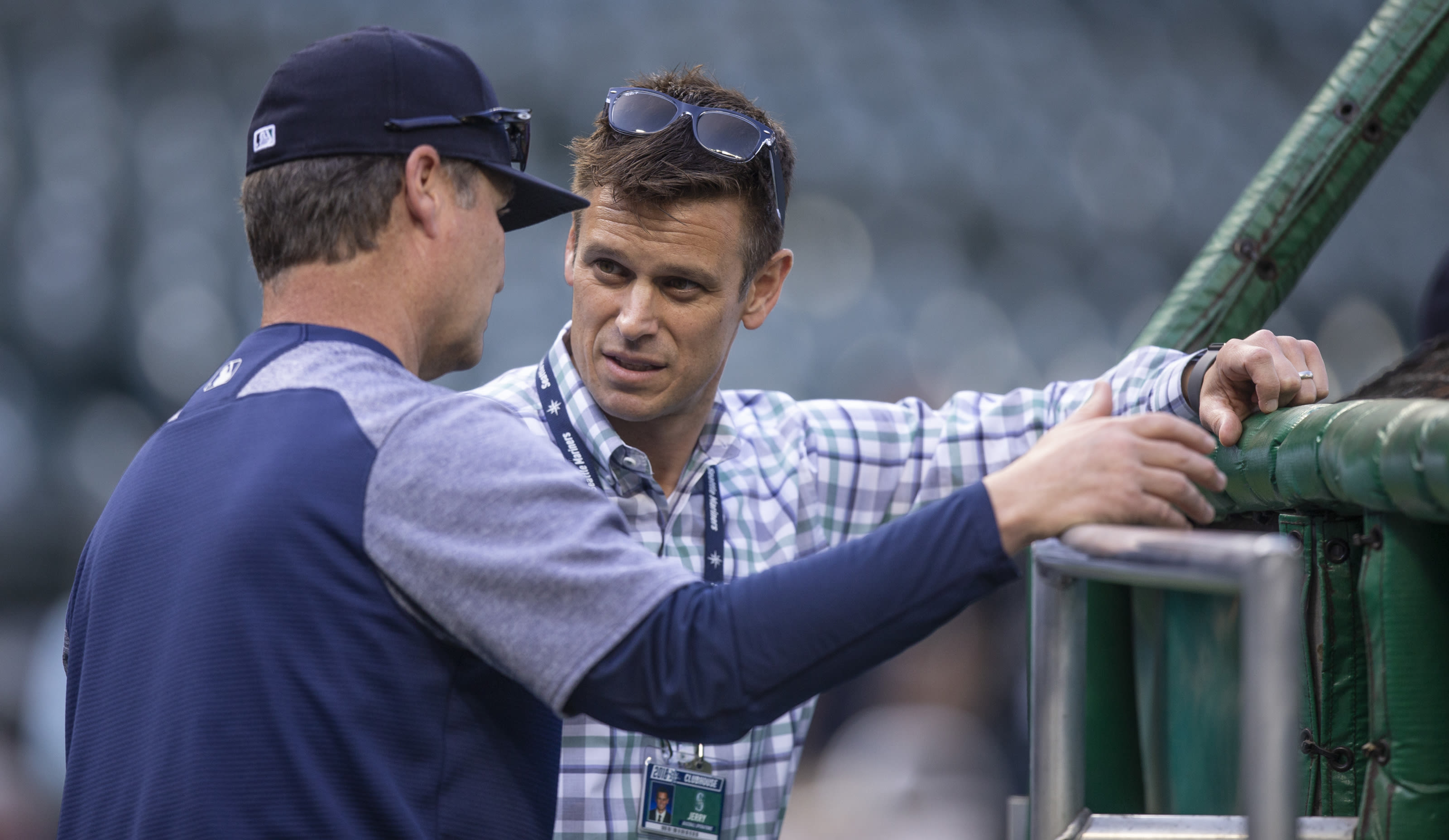 Seattle Mariners GM Jerry Dipoto talks.