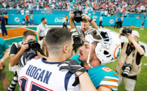New England Patriots and Miami Dolphins
