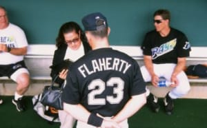 the high five of tampa bay catchers no 5 john flaherty tampa bay catchers no 5 john flaherty