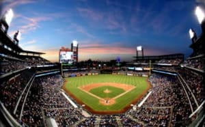 Jul 5, 2016; Philadelphia, PA, USA; A general view of Citizens Bank Park during game between Atlanta Braves and Philadelphia Phillies. The Phillies defeated the Braves, 5-1. Mandatory Credit: Eric Hartline-USA TODAY Sports