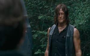 Walking Dead Season 6 Finale Preview: Daryl Discussion - Photo Credit: AMC / Screencapped.net - Raina