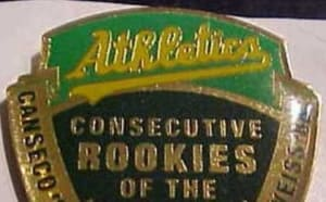 No other Rookies of the Year contributed more to their team's winning than the trio of Canseco, McGwire and Weiss