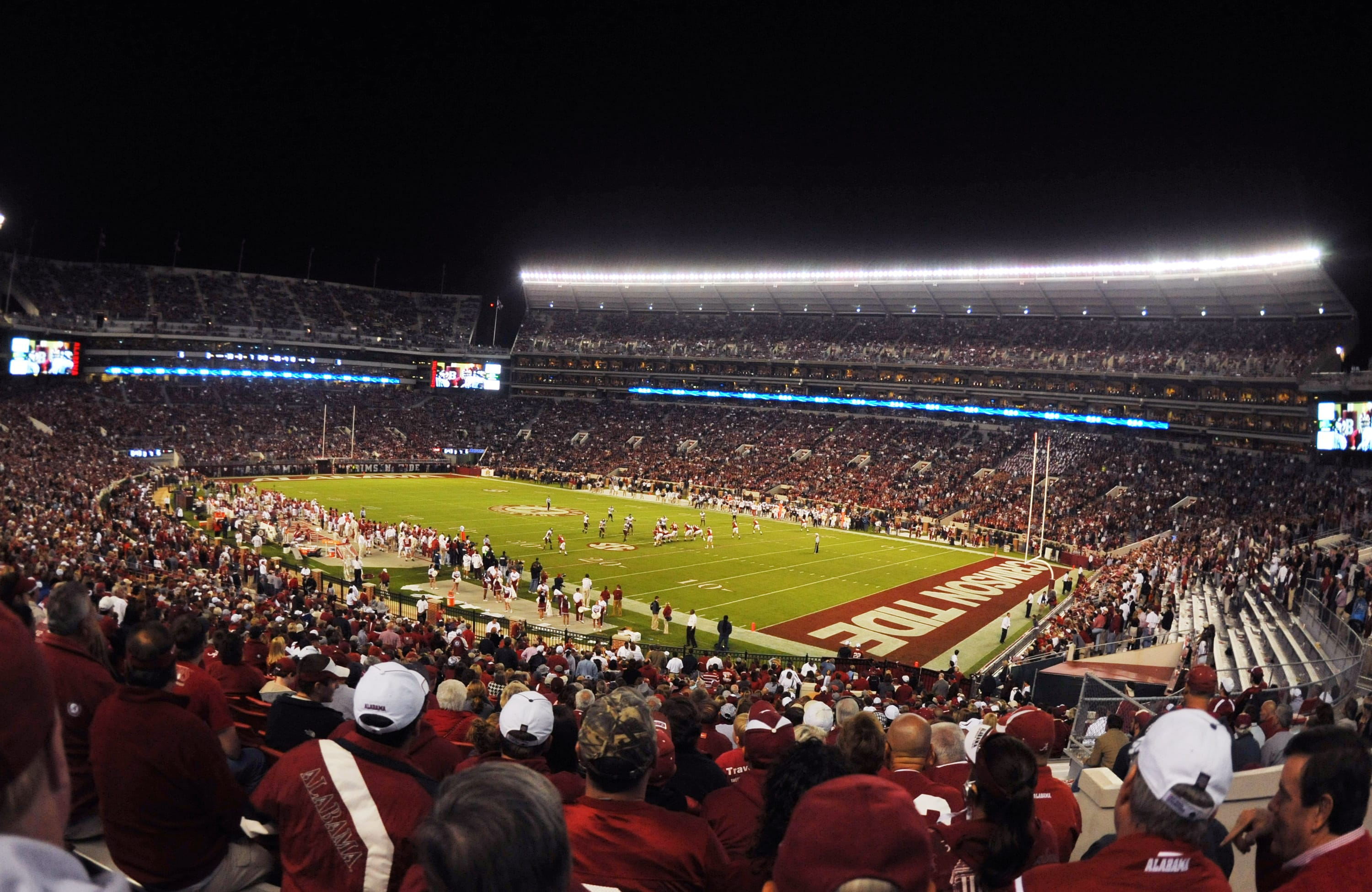 Bryant Denny, home of Alabama football,