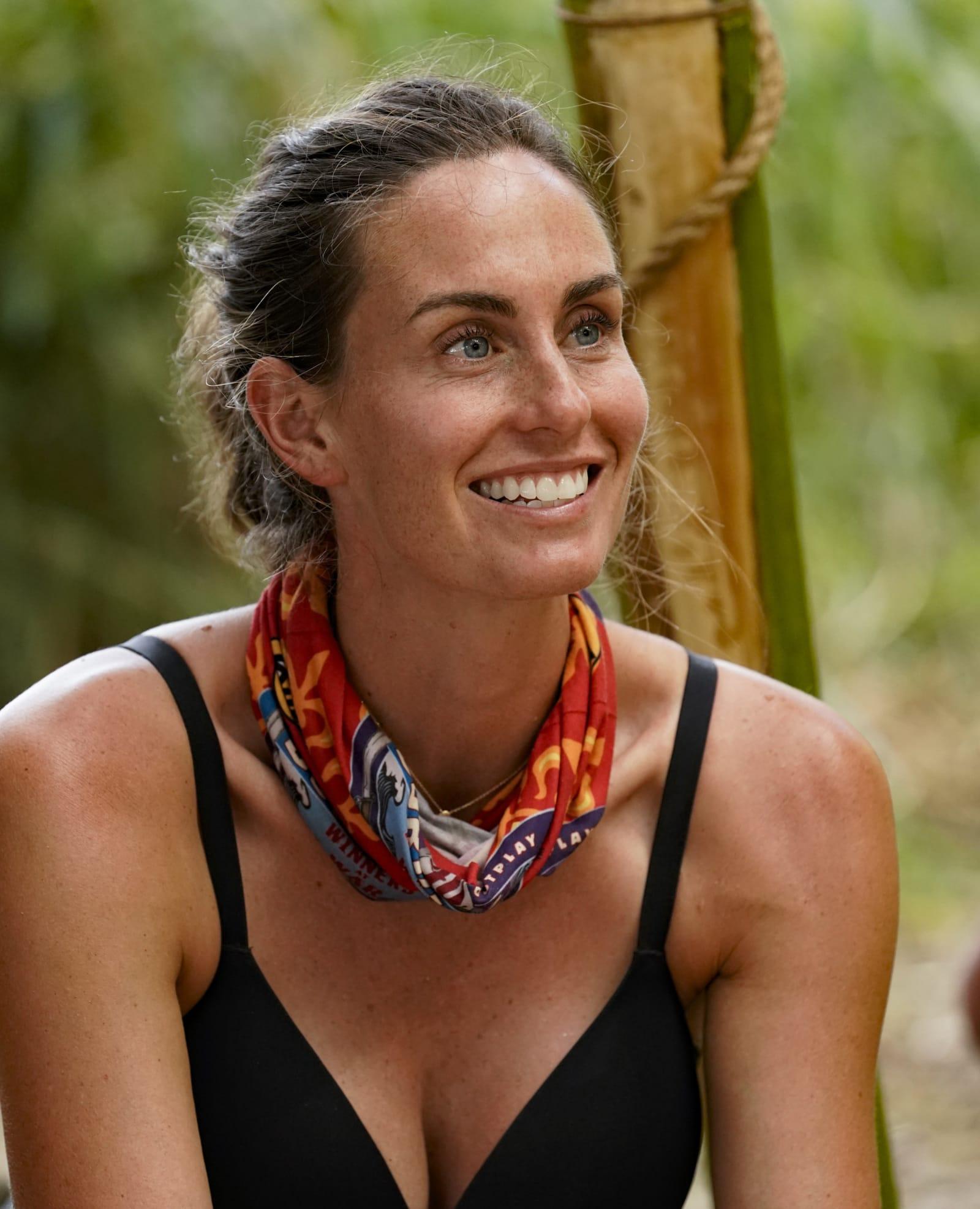 Kim Spradlin smile Survivor Winners at War episode 1