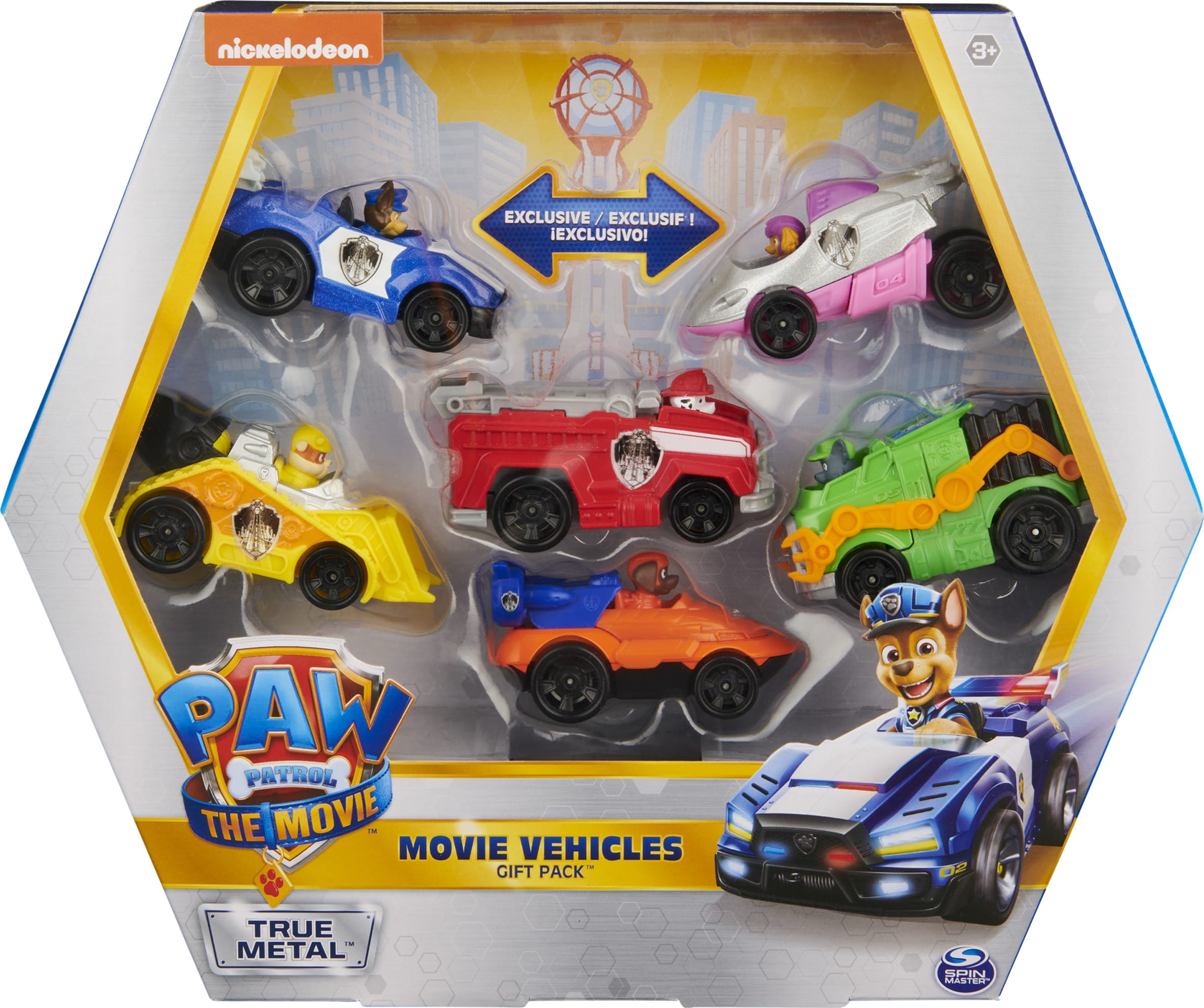 Discover Spin Master Ltd's PAW Patrol: The Movie cars at Walmart.