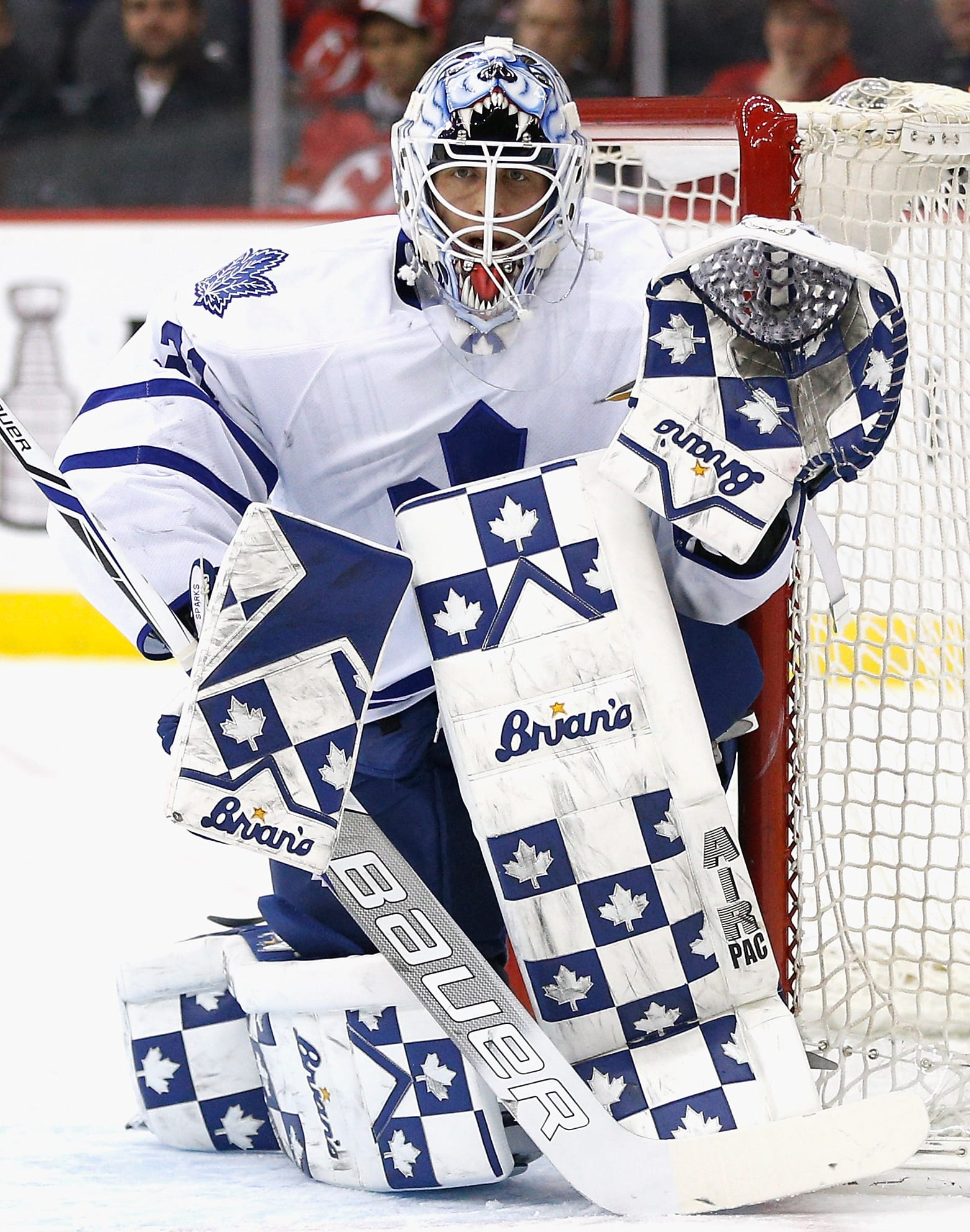 Top 5 Best Looking Toronto Maple Leafs Goalie Masks Of All Time