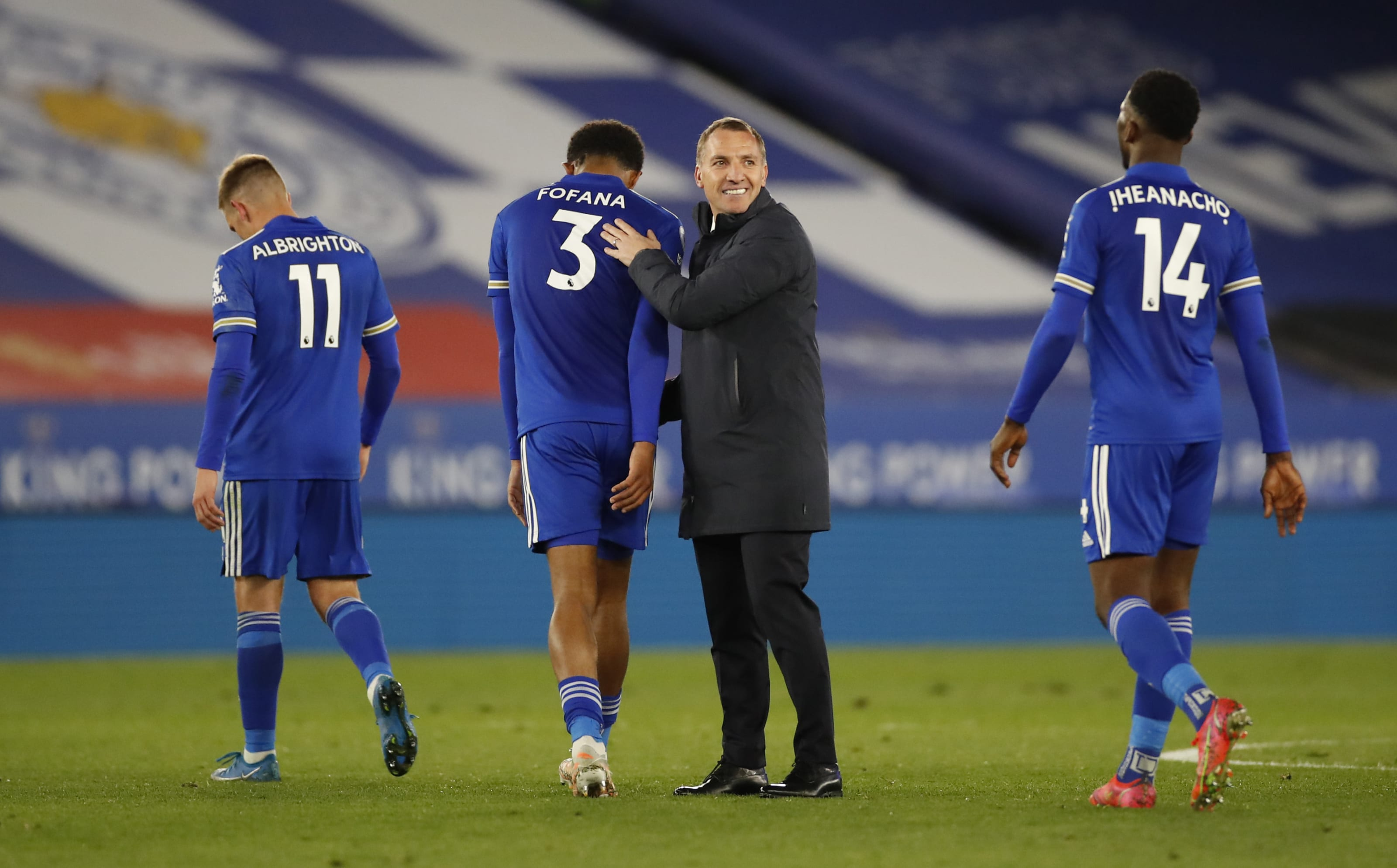 Sportsmanship of Leicester City and opposition; Fox in Team of Week