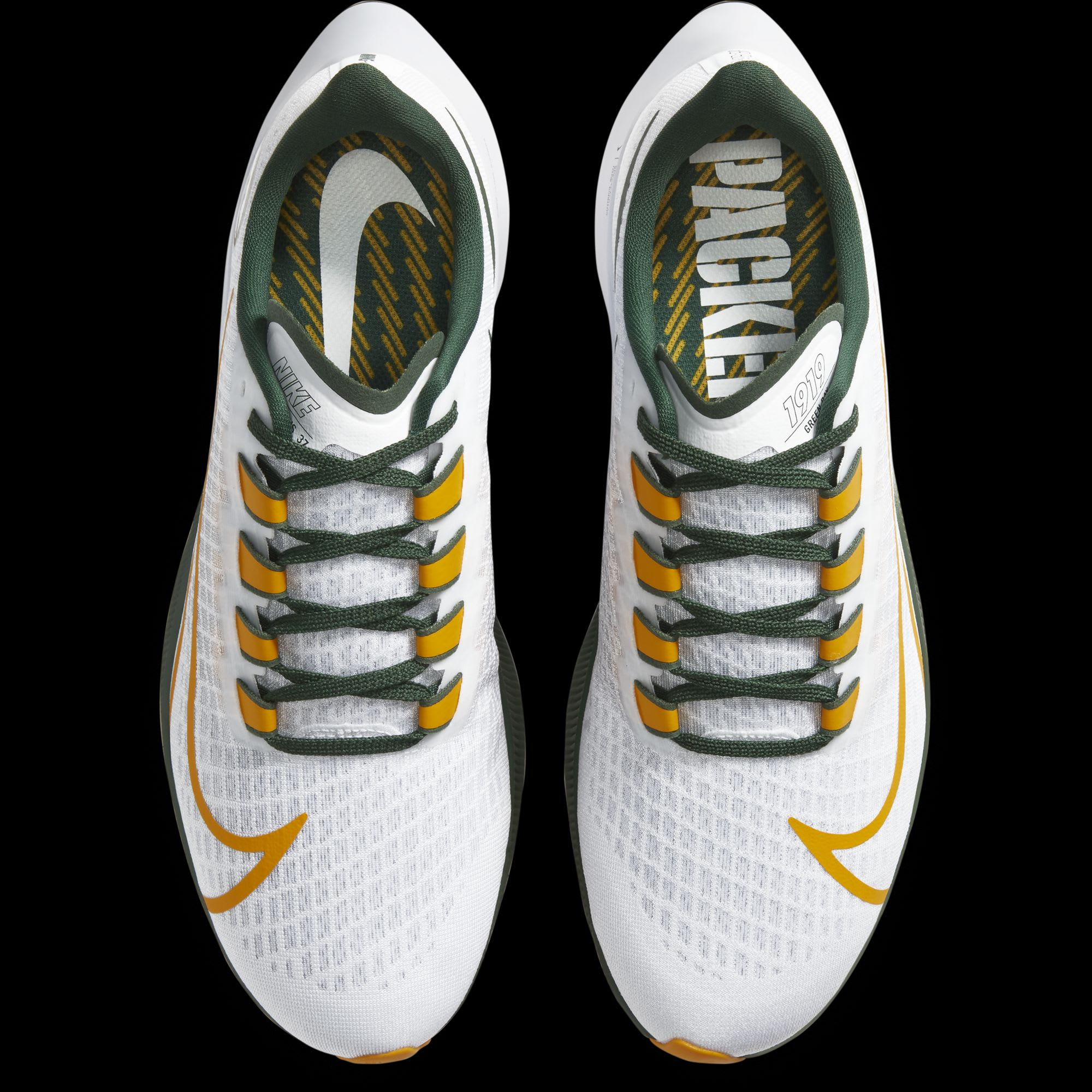 awesome Green Bay Packers Nike shoes