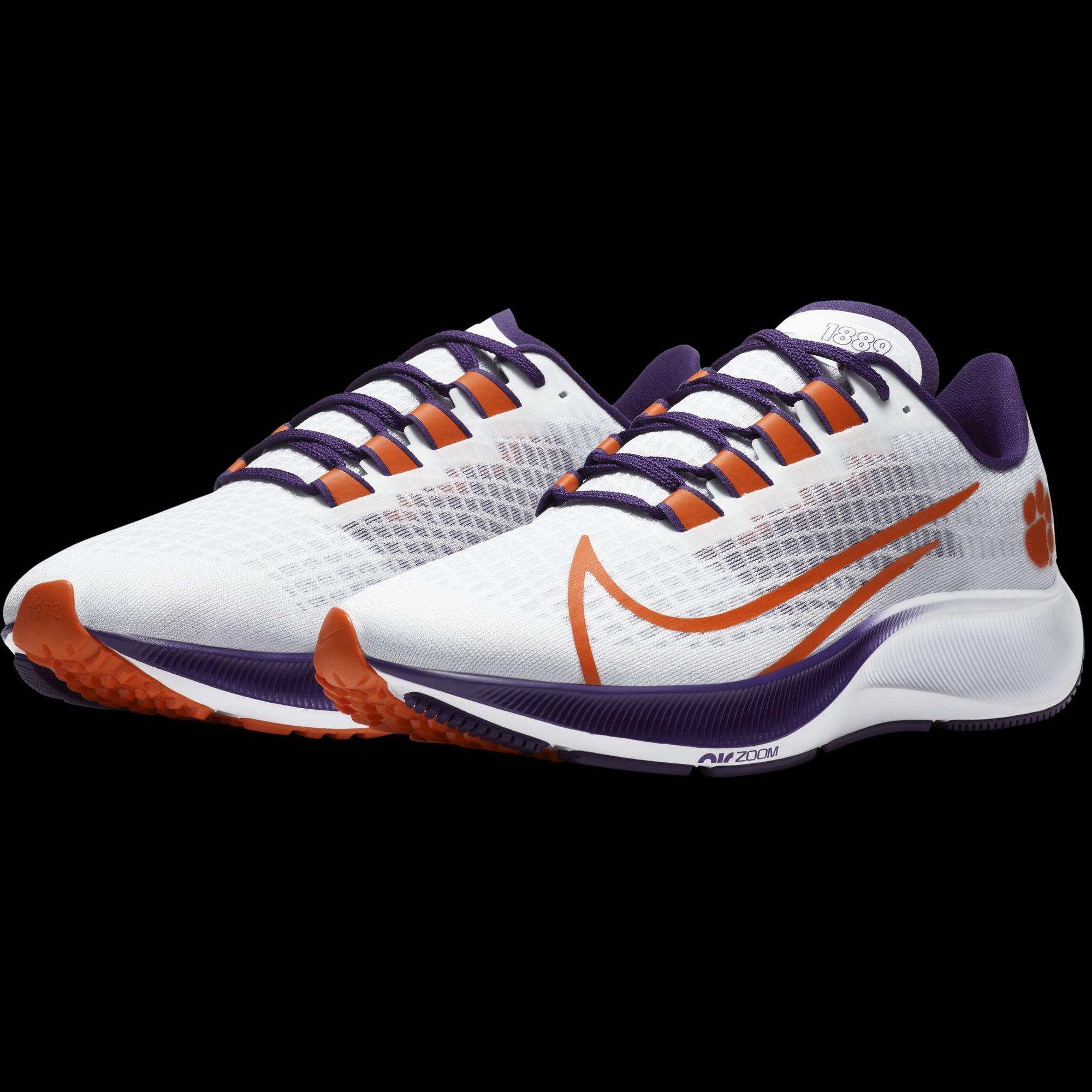 The Nike Air Zoom Pegasus 37 Clemson
