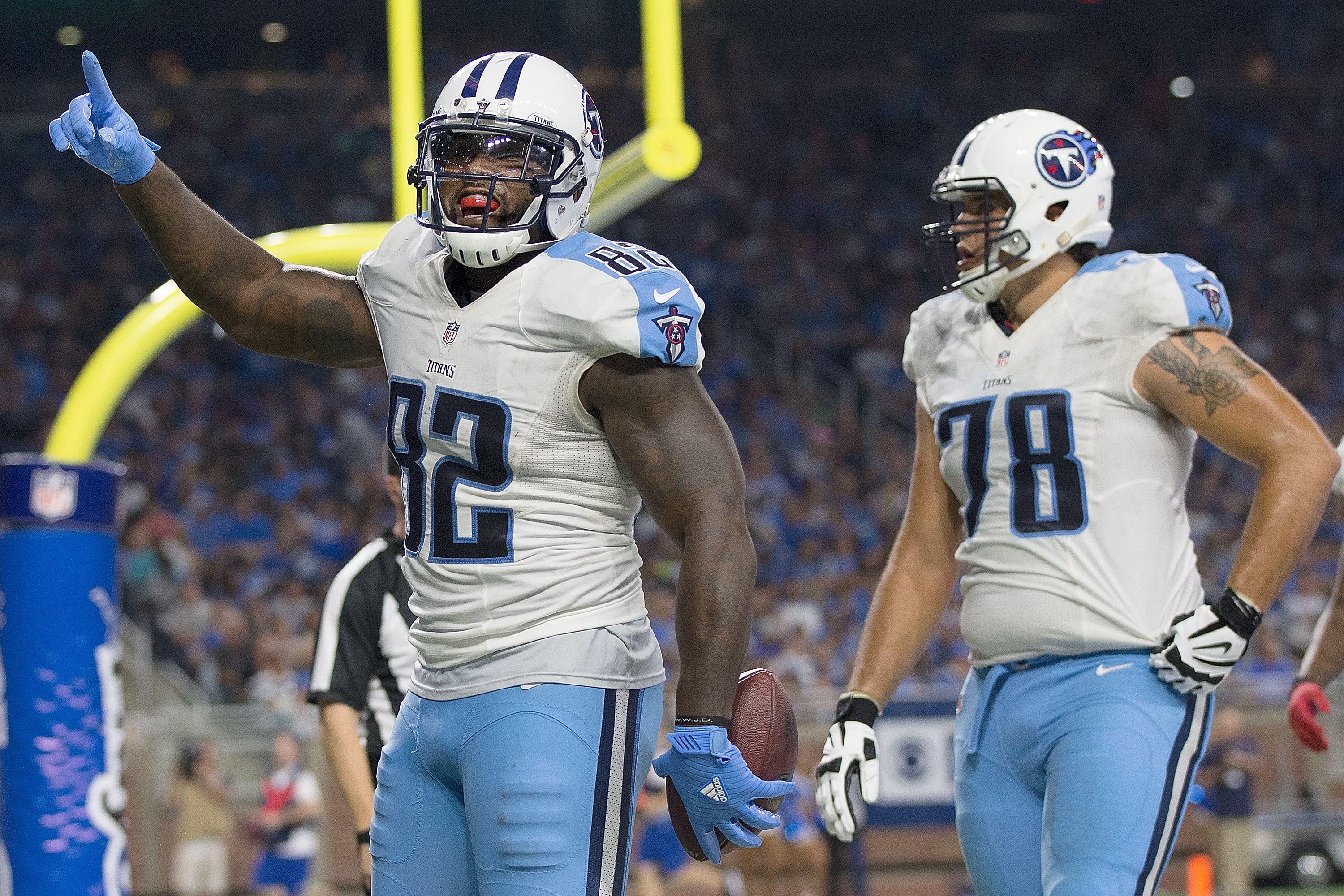 Tennessee Titans tight end, Delanie Walker.