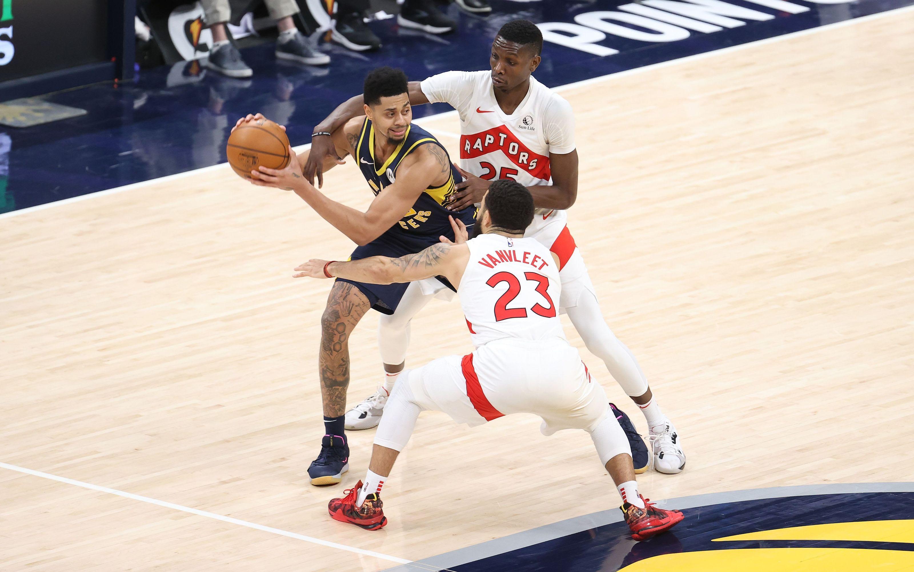 Toronto Raptors, Indiana Pacers