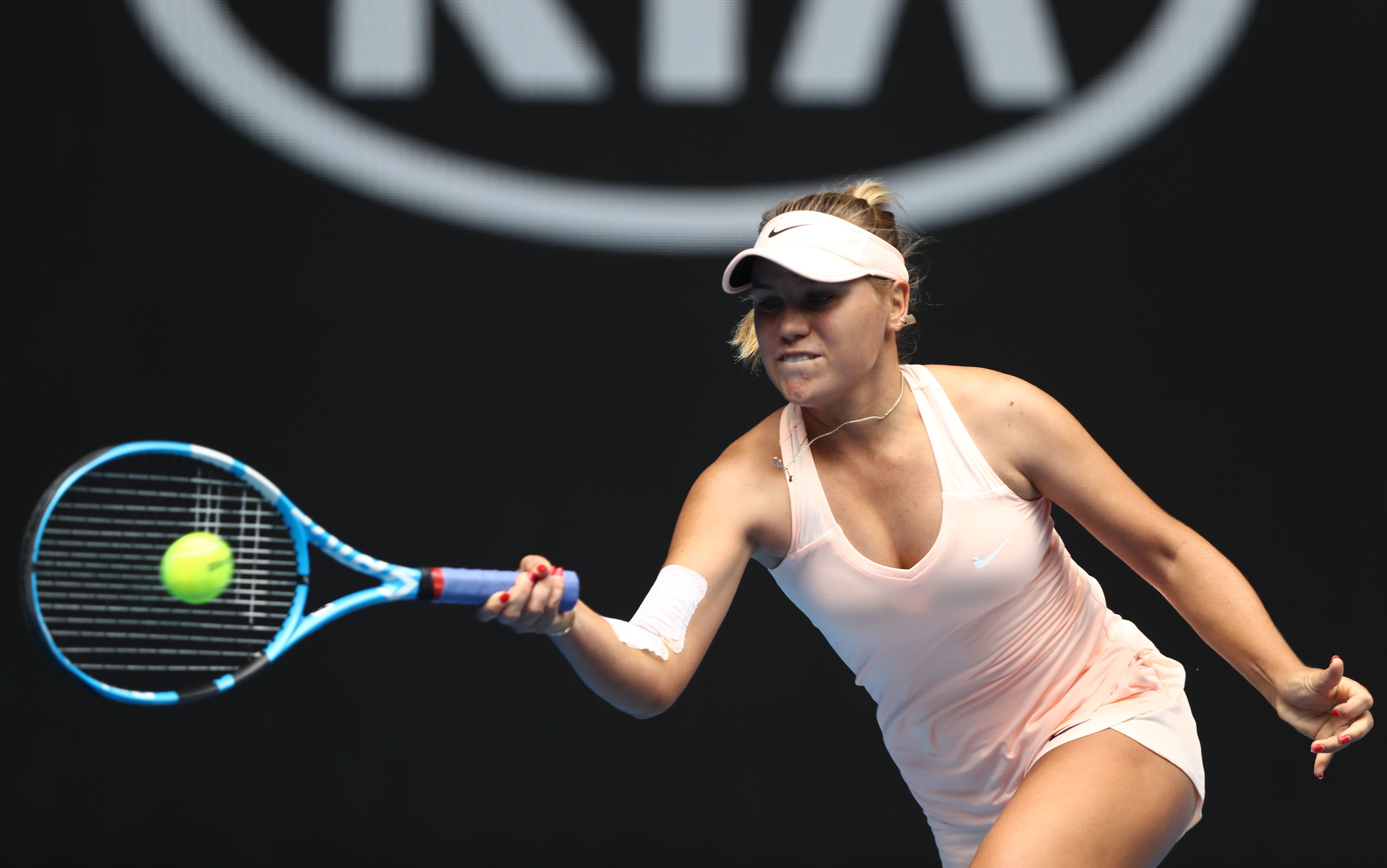 Sofia Kenin Young American Tennis Player Rising On The Wta Tour