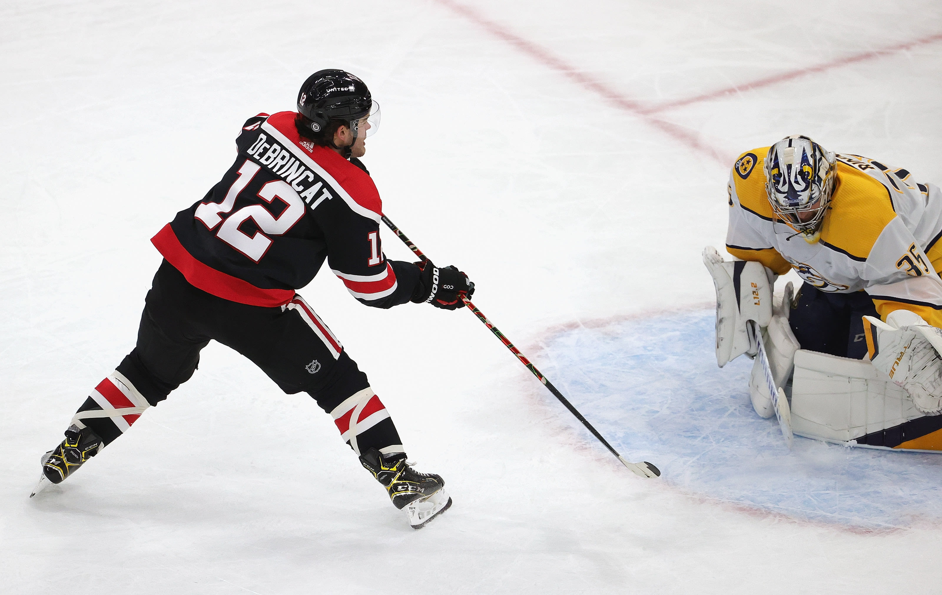 Alex DeBrincat #12, Chicago Blackhawks