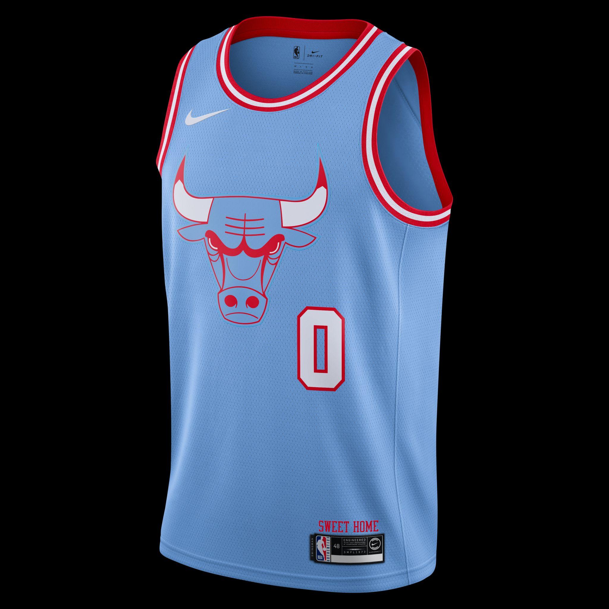chicago bulls city jersey