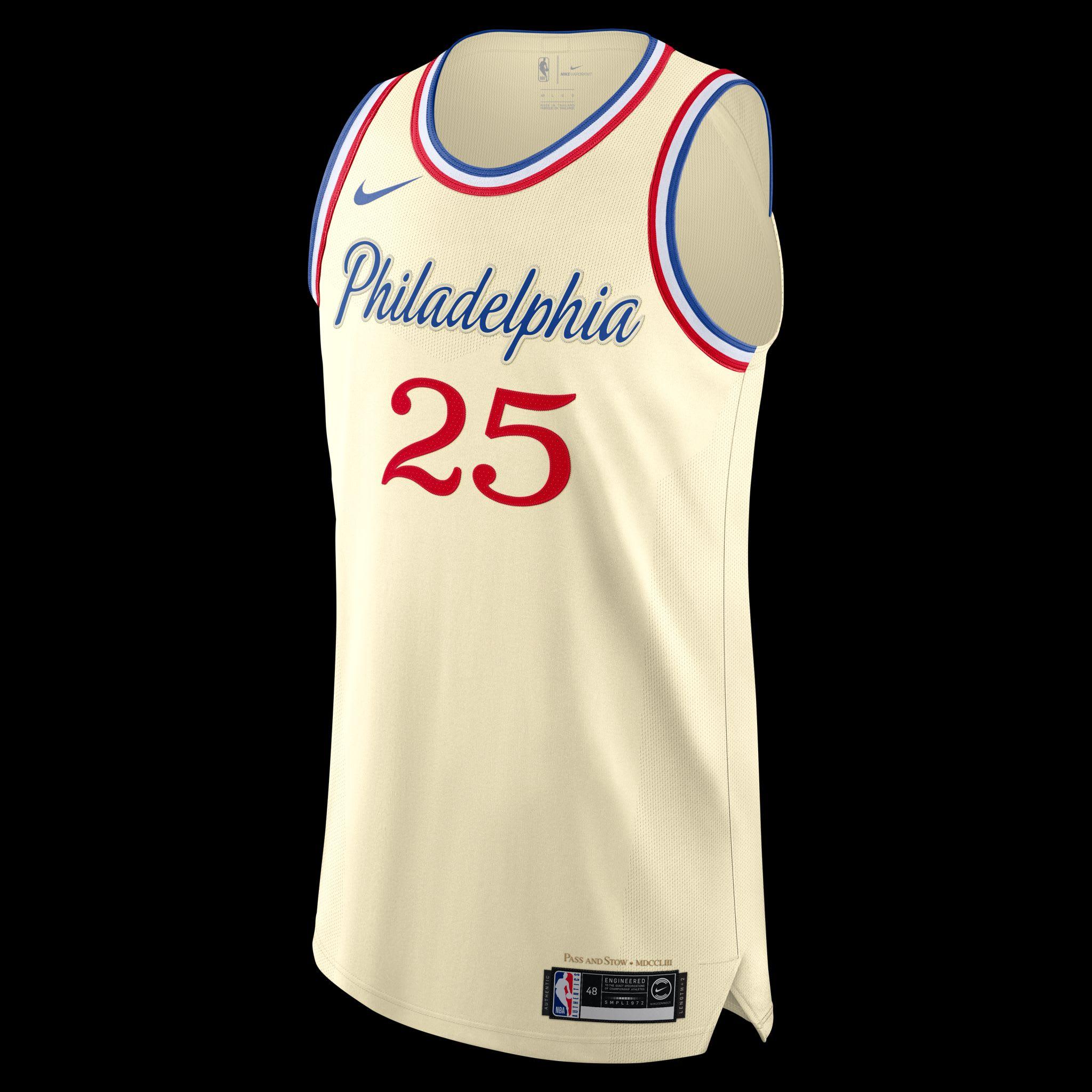 Get Your Philadelphia 76ers City Edition Jerseys Now