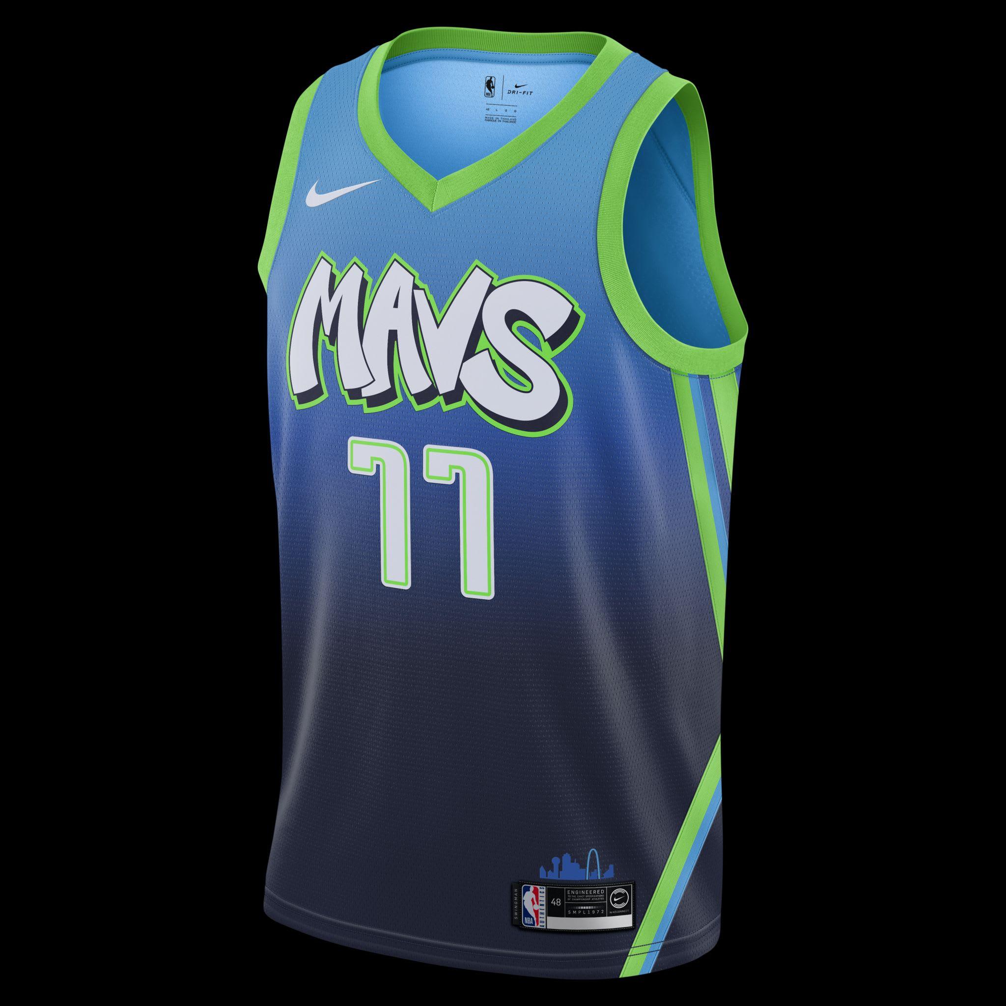 dallas mavericks nike jersey
