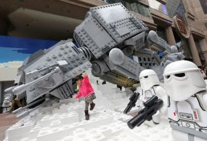 Star Wars Lego Model